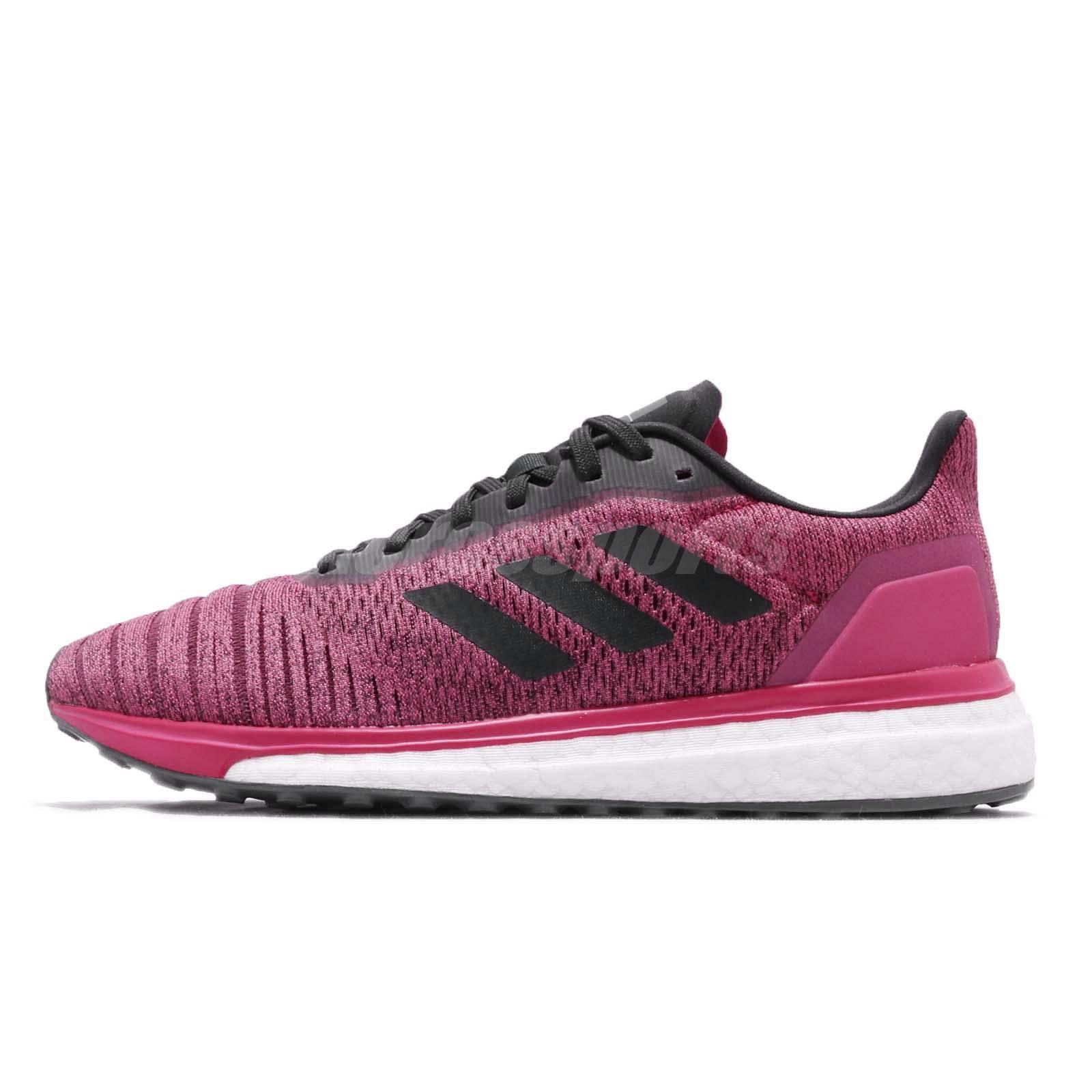 adidas Solar Drive W Boost Real Magenta Carbon Women Running Shoe Sneaker  AQ0339 b3ade6b17