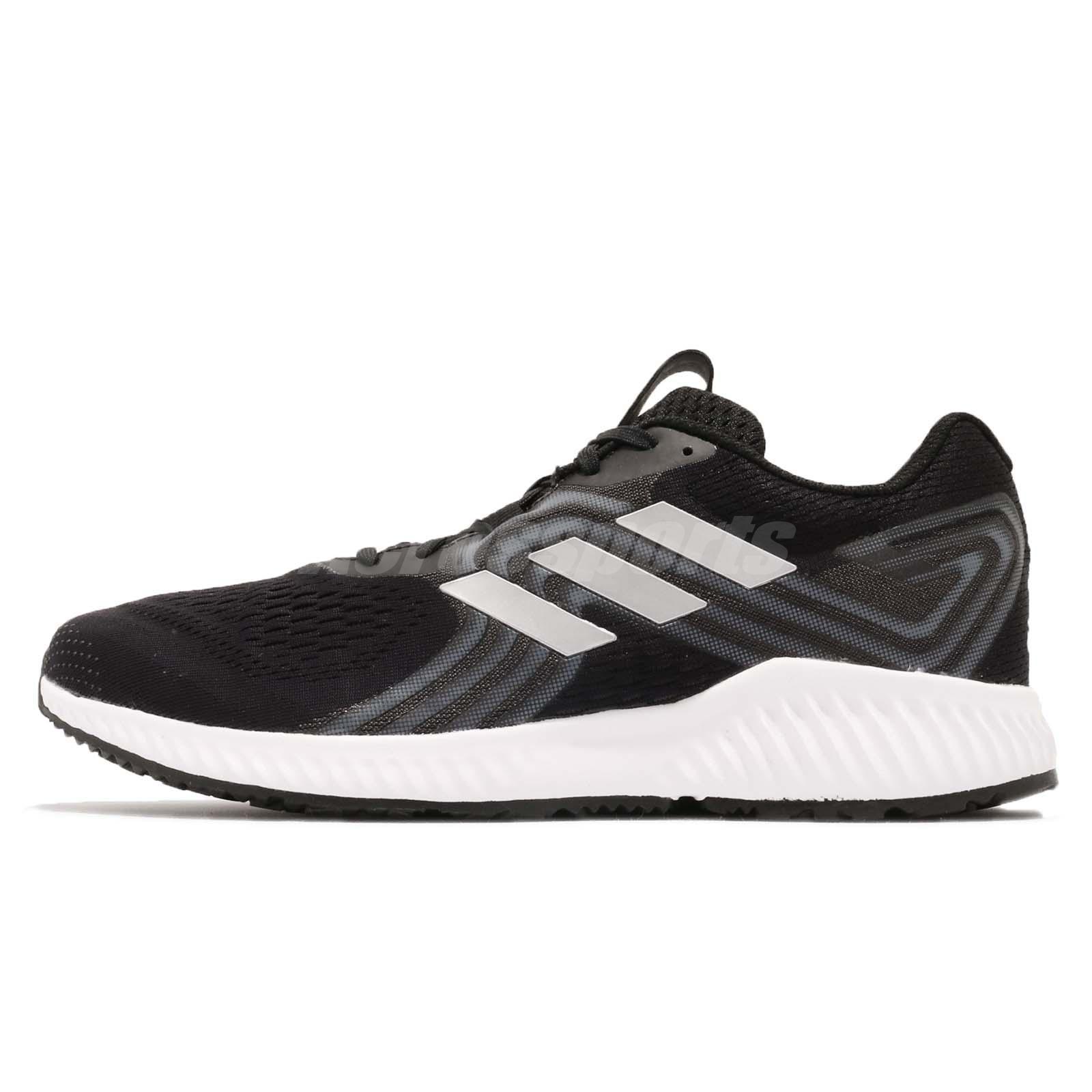 adidas Aerobounce 2 M Black Silver Aqua White Men Running Shoes Sneakers  AQ0536 bc92a19e1