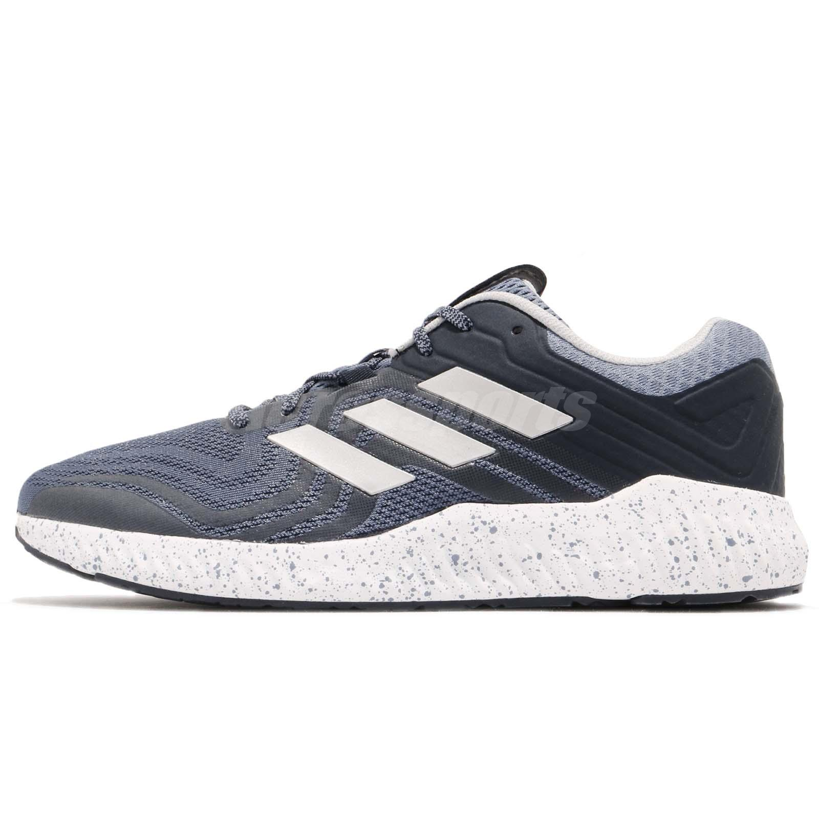 separation shoes 64fb8 74f00 adidas Aerobounce ST 2 Blue Silver Orange Men Running Shoes Sneakers AQ0550