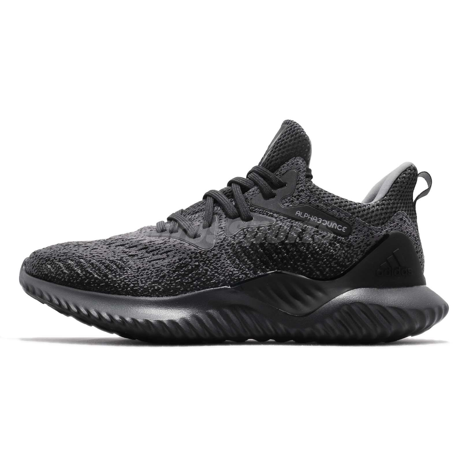 adidas Alphabounce Beyond M Carbon Grey Men Running Training Shoe Sneaker  AQ0573 778e020e9