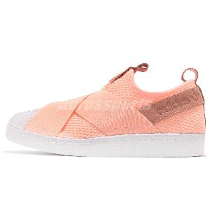 Adidas Originals Superstar Bw35 Slip on W Ice Pink Women Shoes Sneakers By9138 36 23