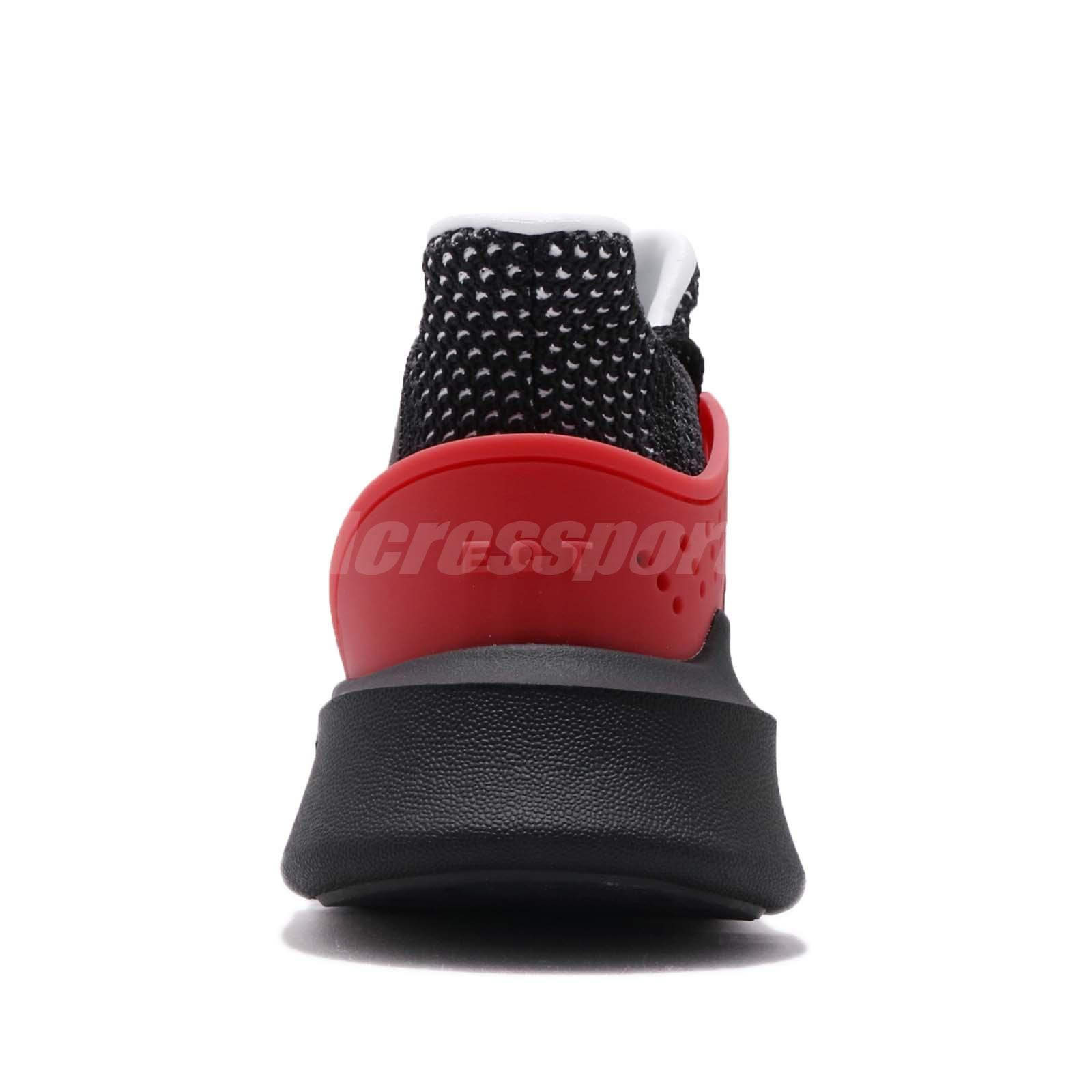 Details about adidas Originals EQT Bask ADV Black White Hi Res Red Men Running Shoes AQ1013