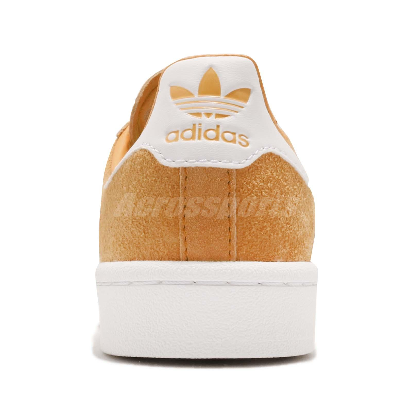 a8f3f8d6d15aa1 adidas Originals Campus W Chalk Orange White Women Casual Shoes ...