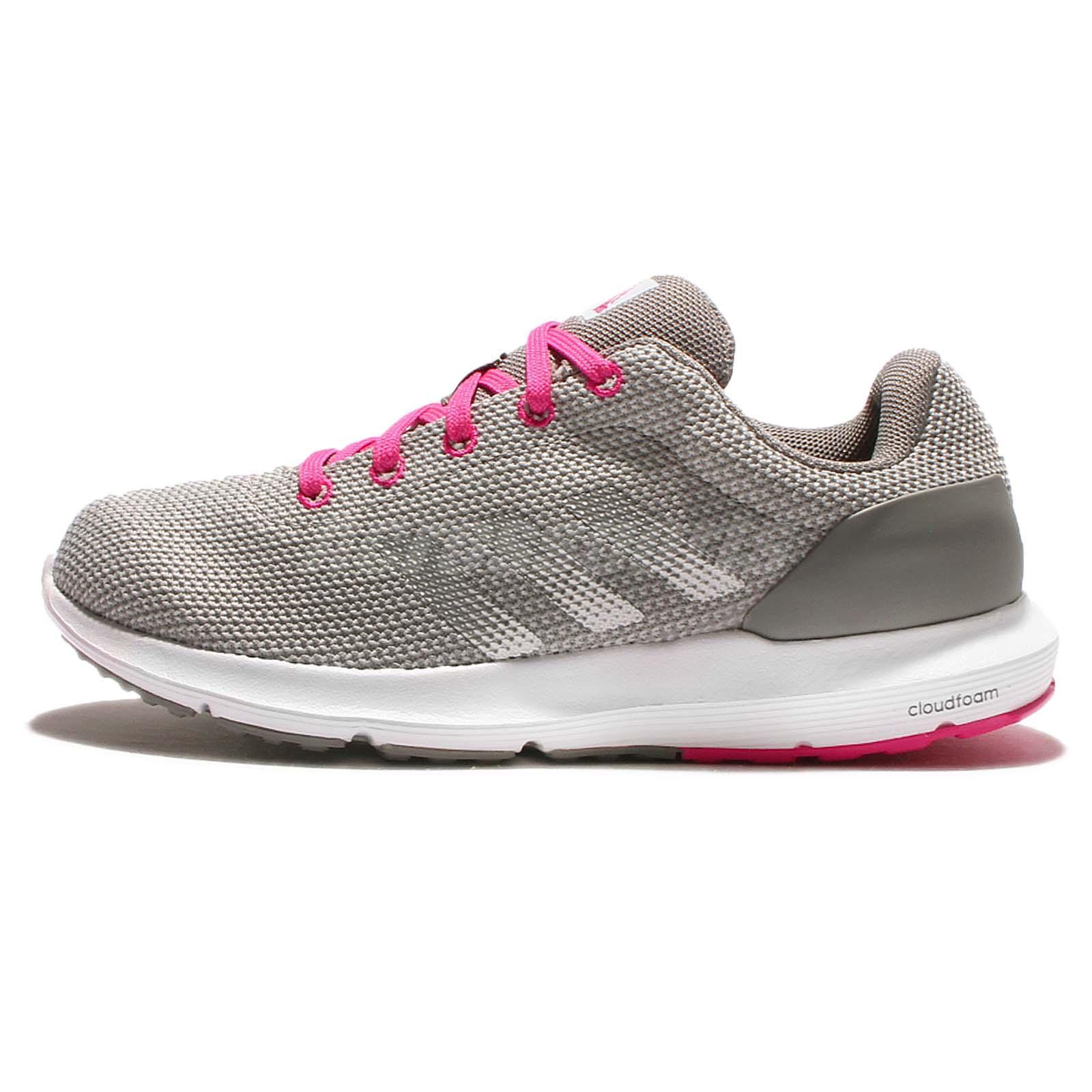 adidas cloudfoam grey pink