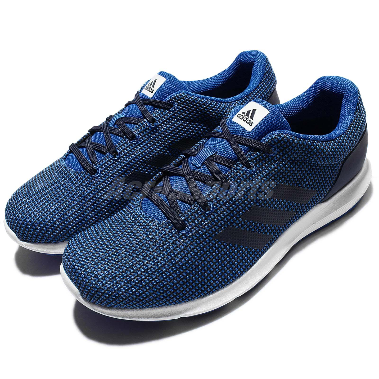 Navy Blue White And Gray Bedroom: Adidas Cosmic M Navy Blue White Mens Running Shoes