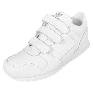 3a00394ec ... Adidas Originals ZX 700 CF K White Velcro Kids Youth Running Shoes  AQ2765 ...