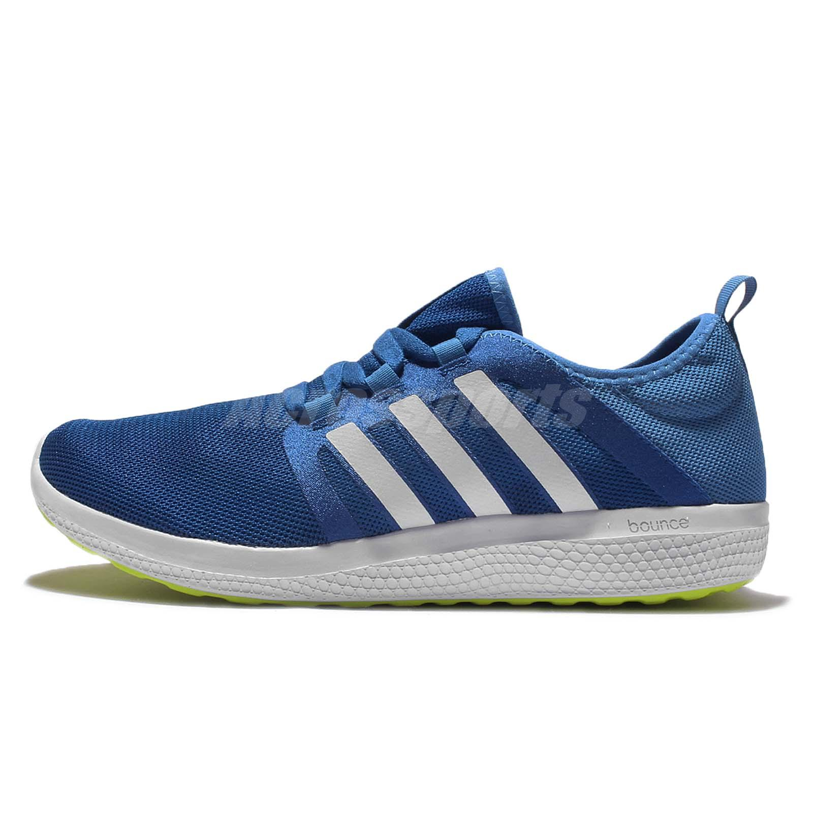 28edc510bf1bc adidas CC Fresh Bounce M Blue White Green Men Running Shoes Sneakers AQ3128