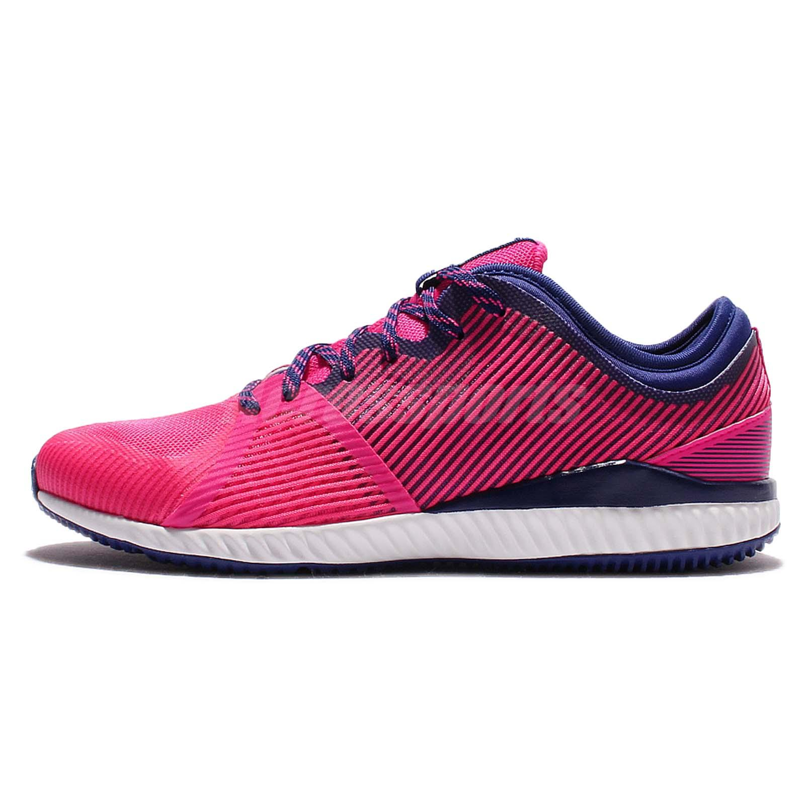 adidas CrazyMove Bounce W Pink Blue Women Training Weightlifting Shoes AQ4216
