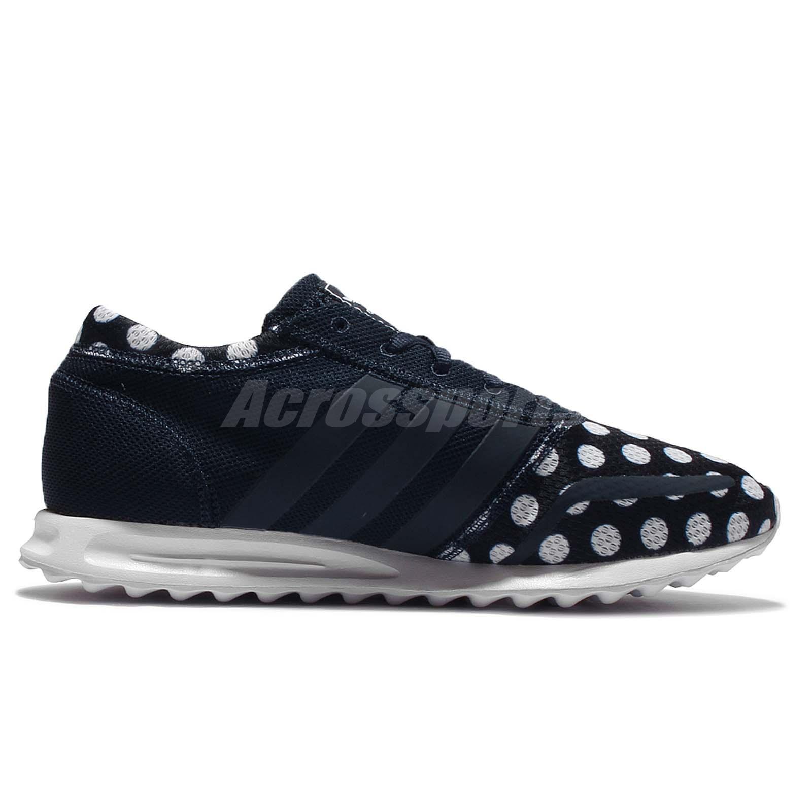 bf0428c9baa adidas Originals Los Angeles Navy White Polka Dot Men Casual Shoe ...