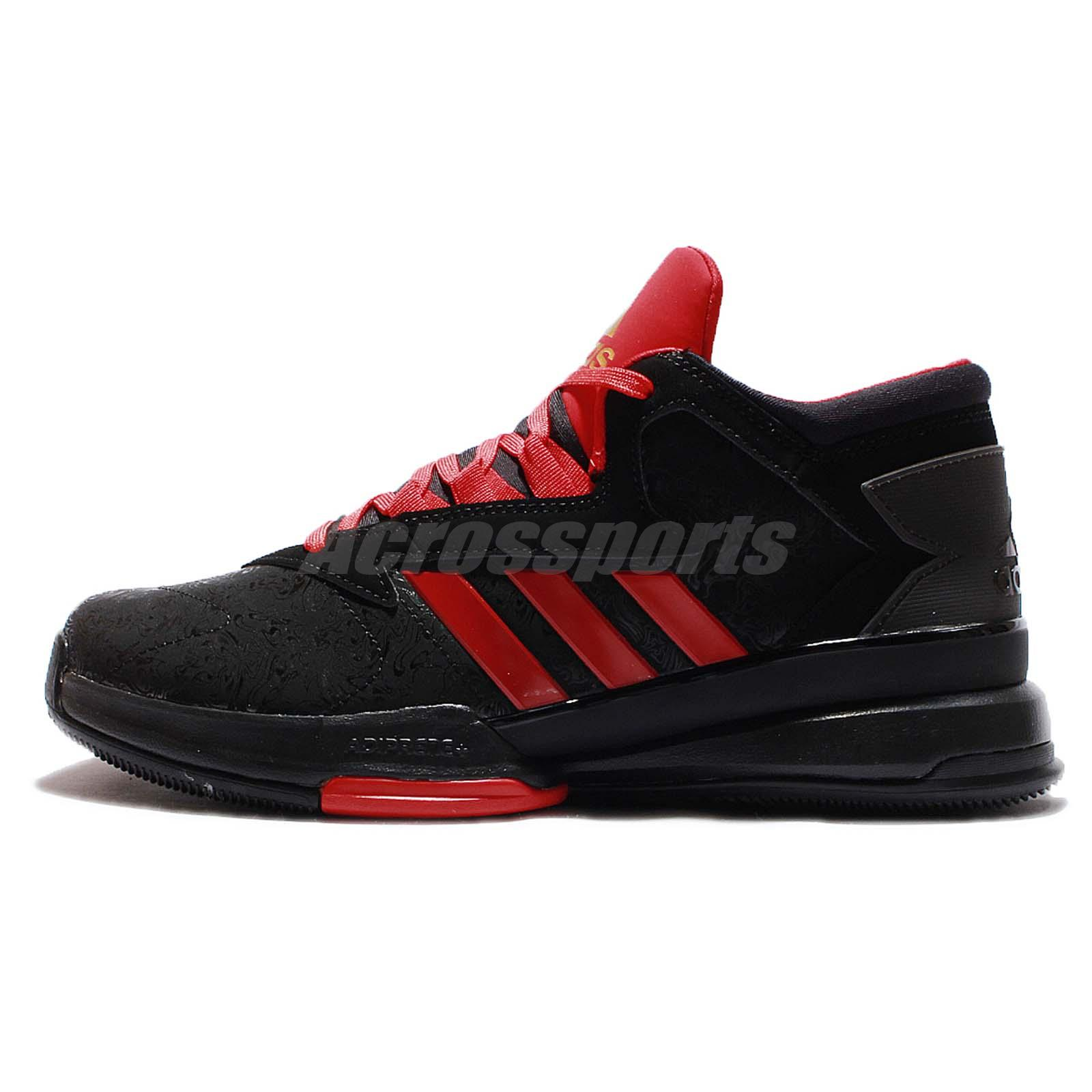adidas street jam ii 2 rosso uomini scarpe da basket.