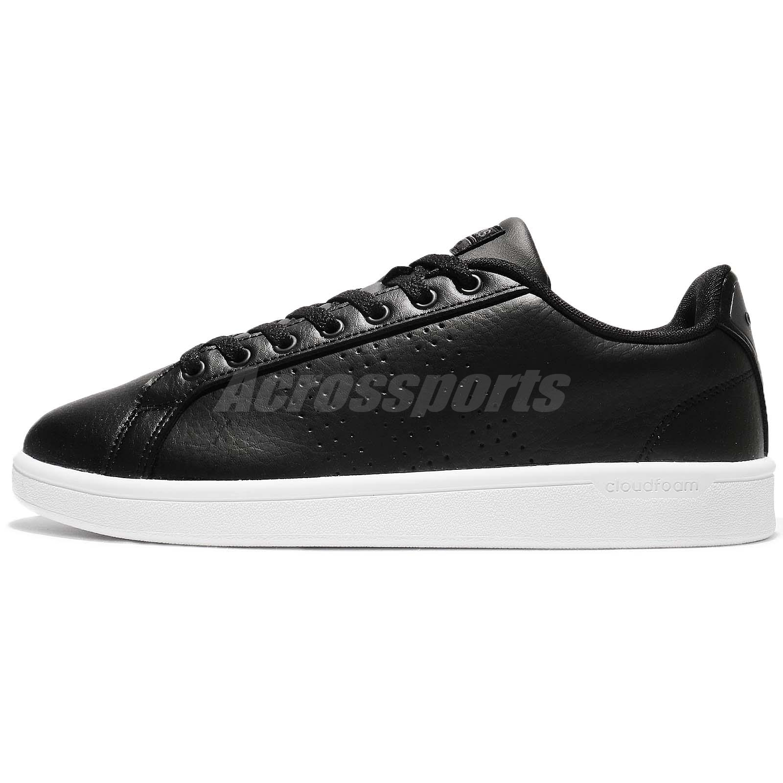 adidas neo cloudfoam advantage black
