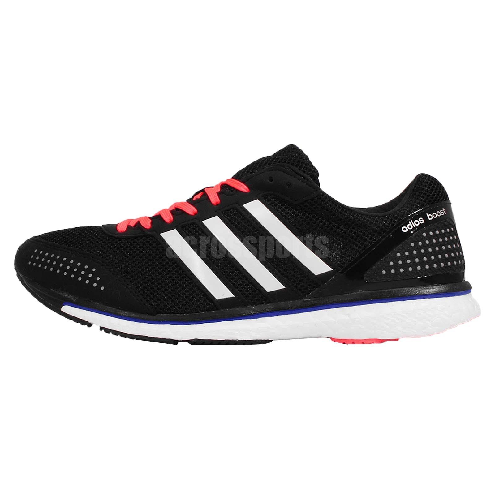 Adidas Adizero Adios Boost  Mens Shoes Red White
