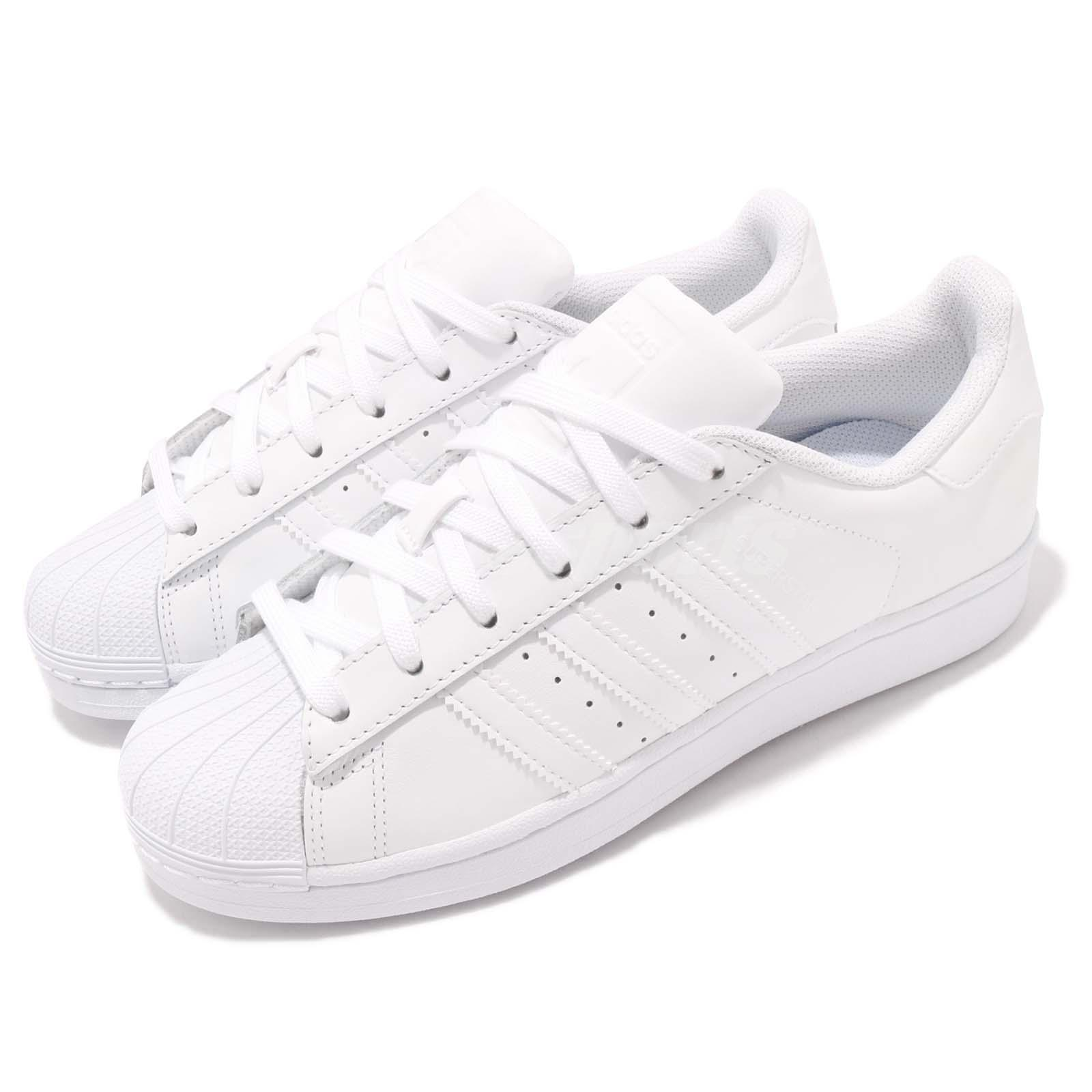 best service b05c4 6add5 Details about adidas Originals Superstar Foundation White Out Men Casual  Shoes Sneakers B27136