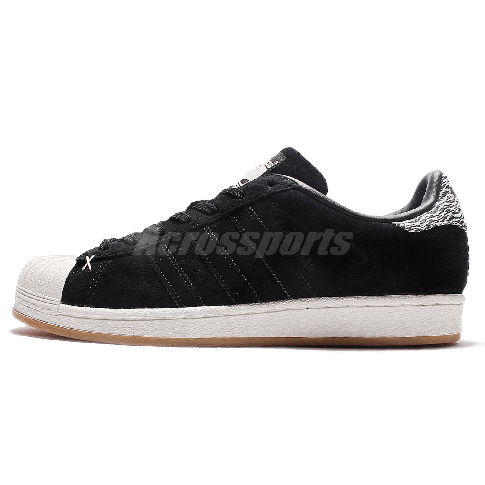 adidas Originals Superstar Black Off White Camo Men Casual Shoes Sneakers  B27737