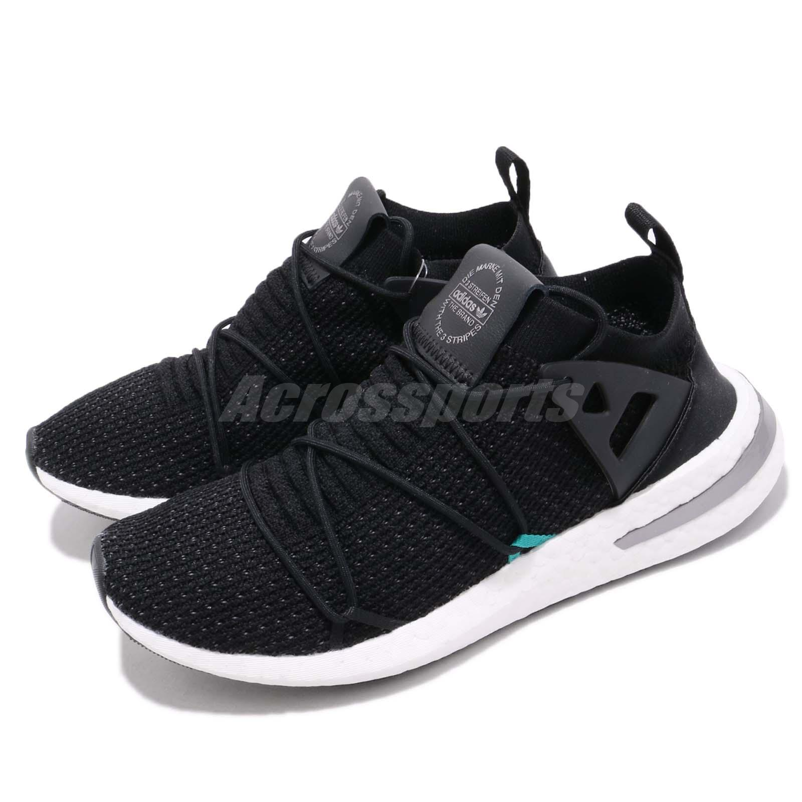 72e30eb61dc Details about adidas Originals ARKYN PK Primeknit Boost Black Silver Men  Running Shoes B28123