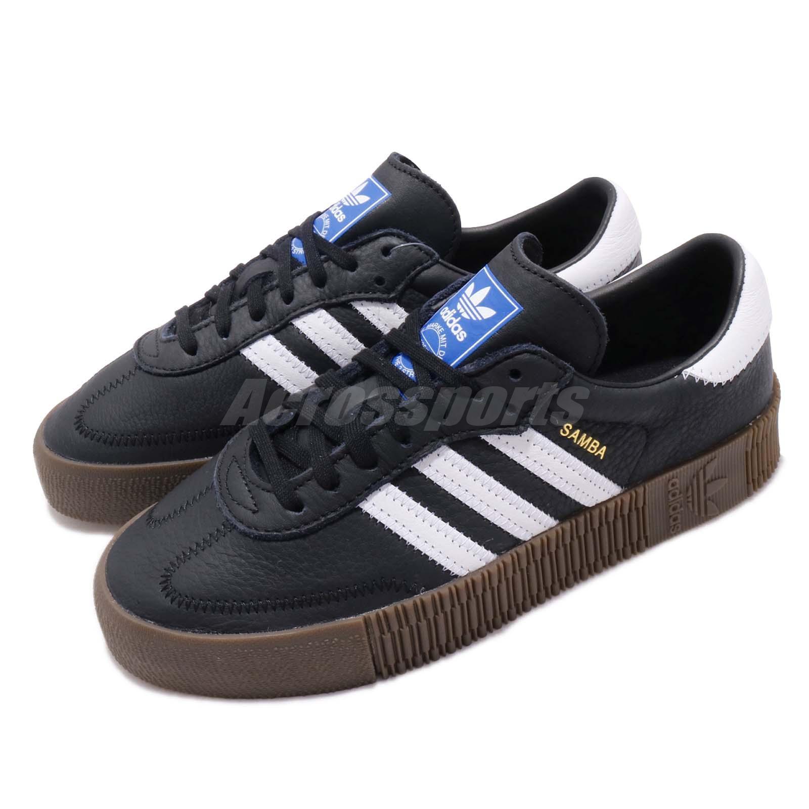 Adidas Sambarose schwarz gum Damen Schuhe B28156