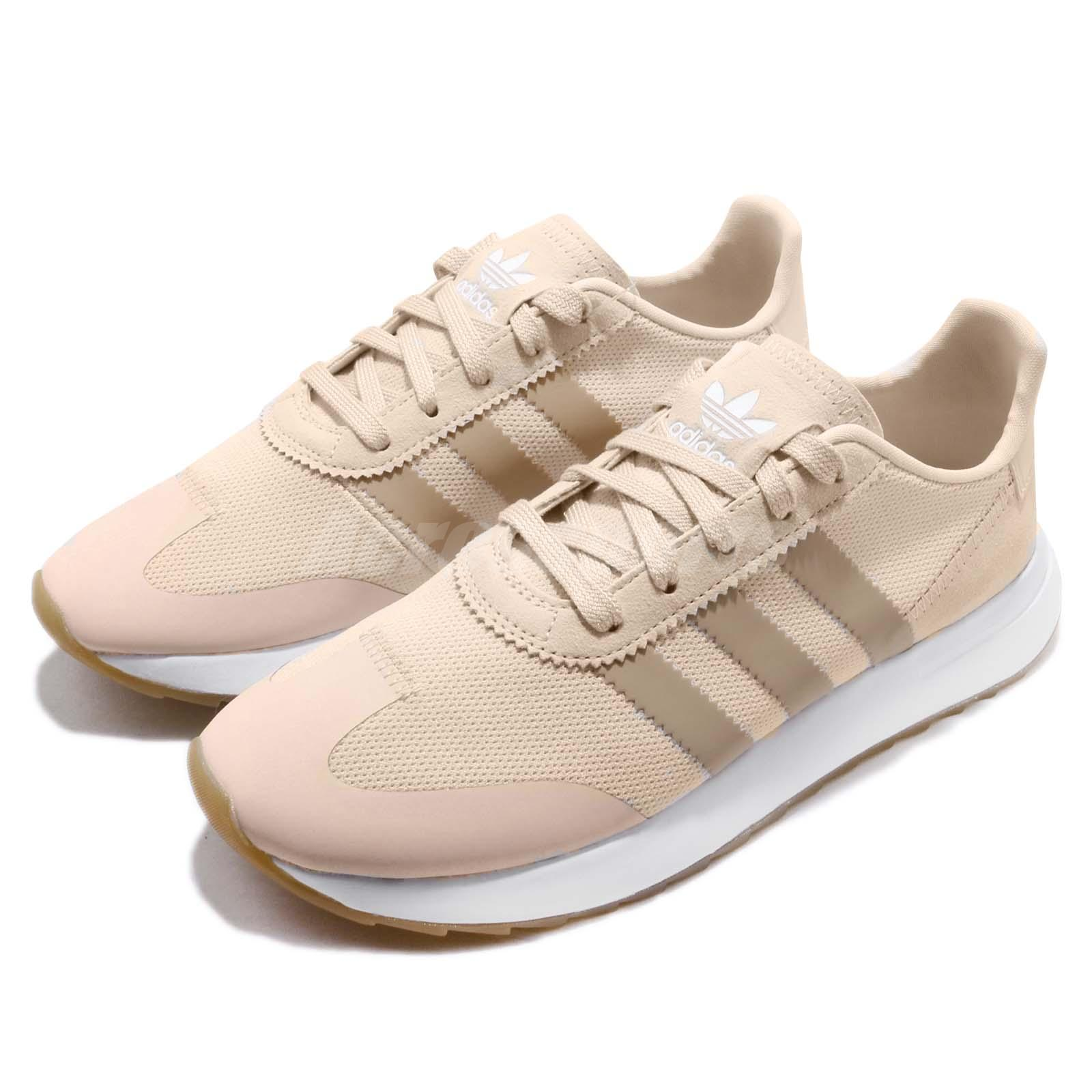 Details about adidas Originals FLB Runner W Linen Ash Pearl Gum Women  Running Shoes B28181 a6b51dc00db04