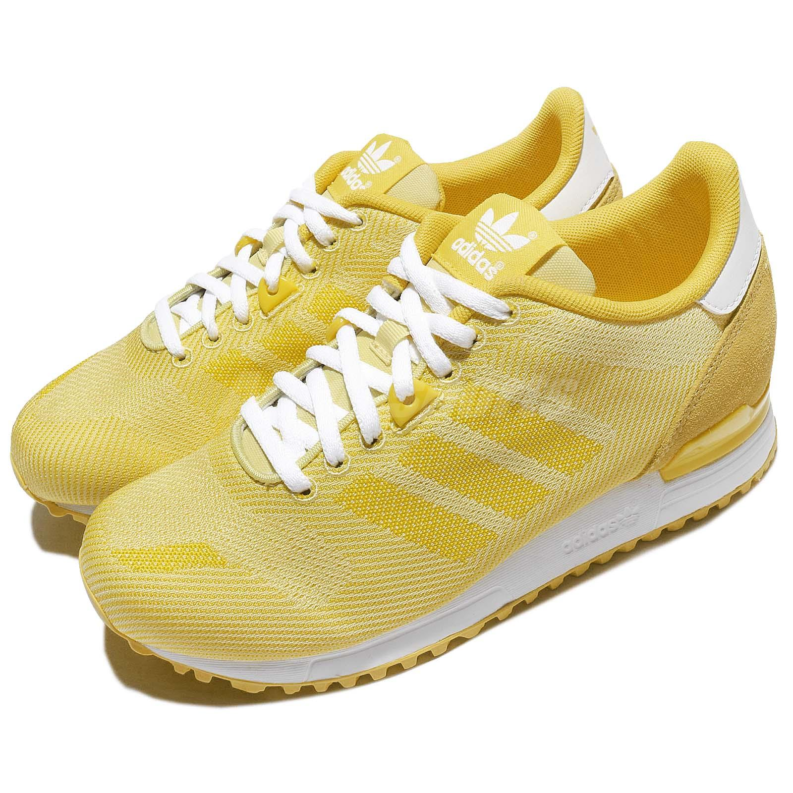 Adidas Originals ZX 700 Weave W Yellow Womens Running