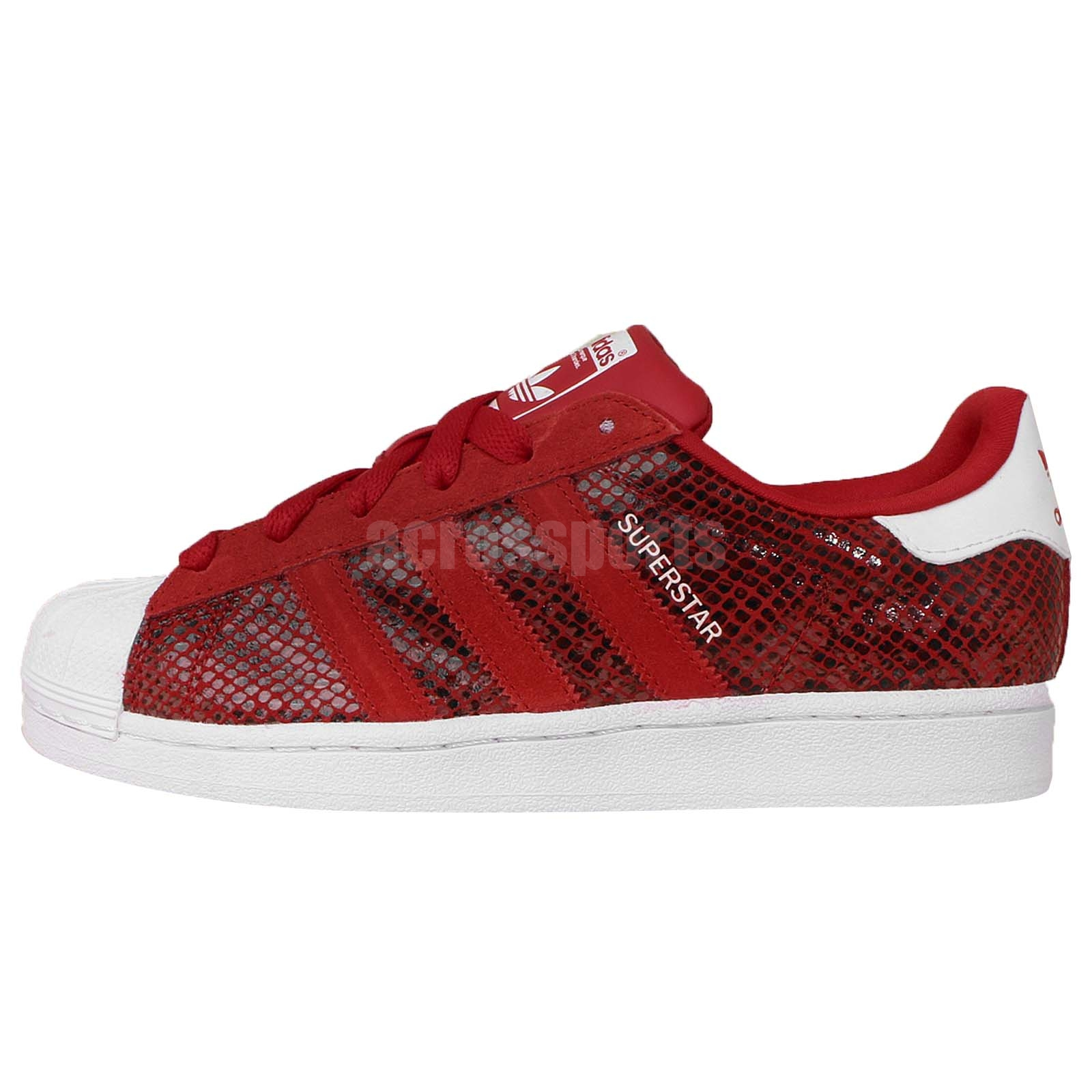 adidas superstar snake rouge,Adidas Originals Superstar Snake Rouge B25587 pas  cher Achat Vente Baskets enfant ... 637b0d87751e