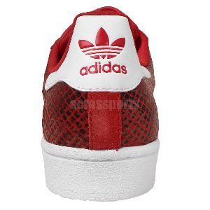 adidas superstar red croc snake