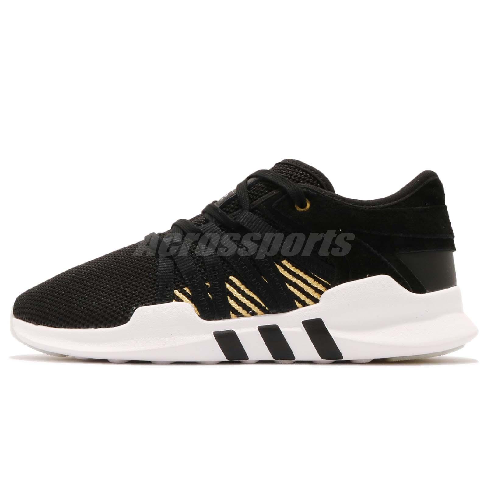 Détails sur adidas Originals EQT Racing ADV W Black Gold White Women Running Shoes B37089