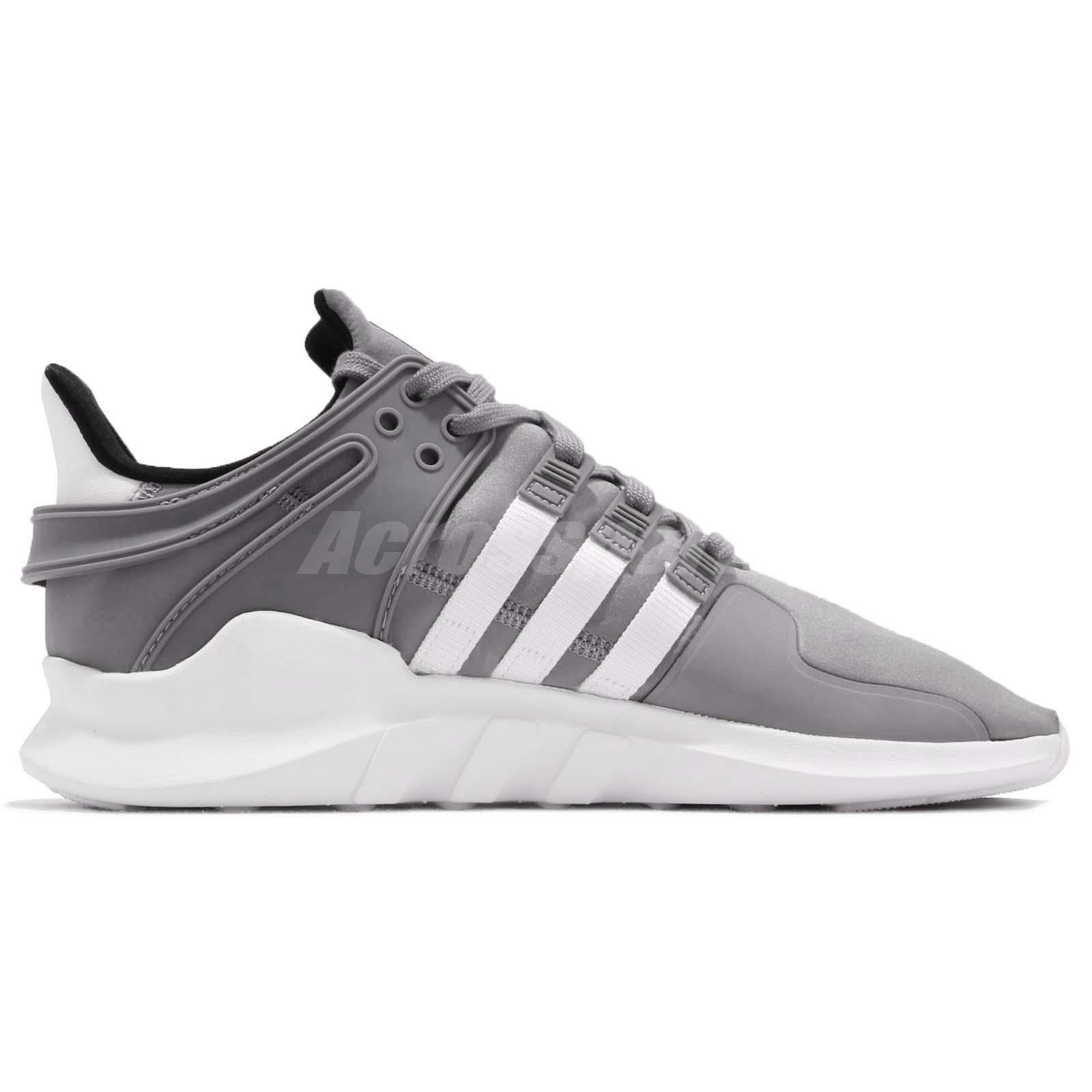 8176131f4f55 adidas Originals EQT Support ADV Grey White Men Running Shoes ...