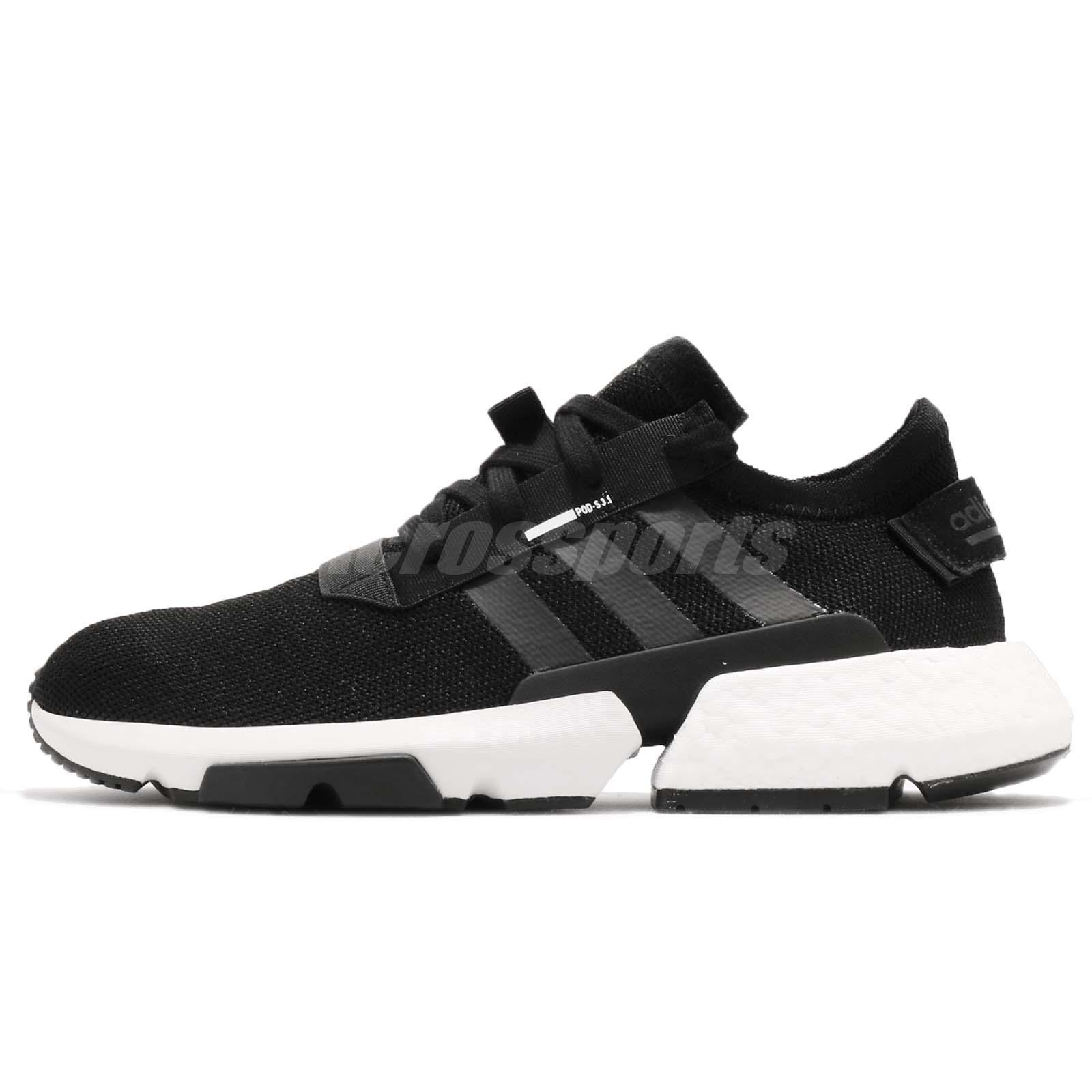 adidas Originals Pod-S3.1 System Boost Black White Men Running Shoes B37366 b14043e08fe