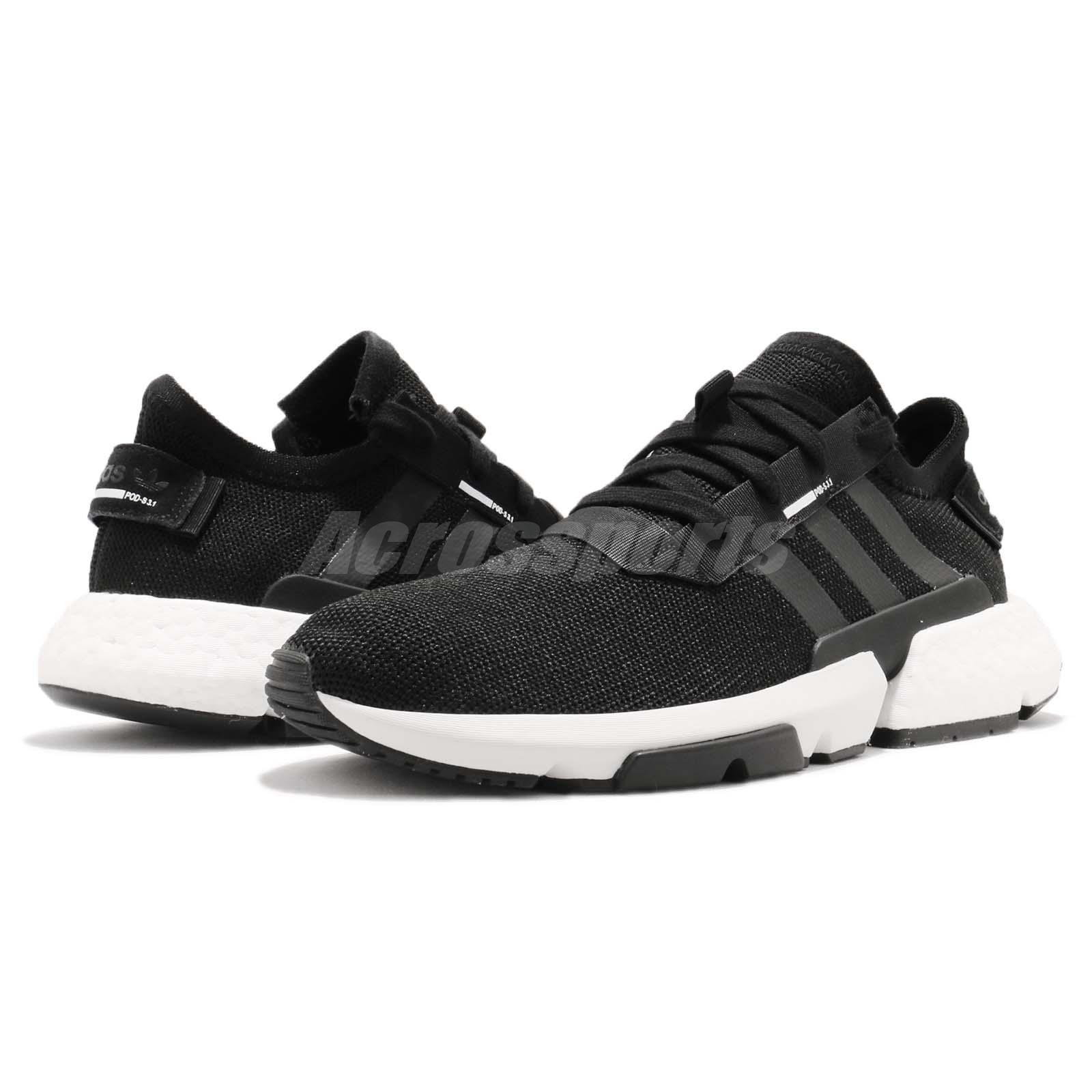 adidas Originals Pod-S3.1 System Boost Black White Men Running Shoes ... f1beadbb302