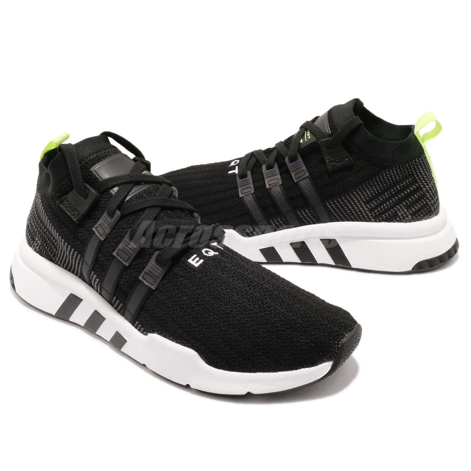 hot sales 14477 428c5 adidas Originals EQT Support Mid ADV PK Primeknit Black Whit