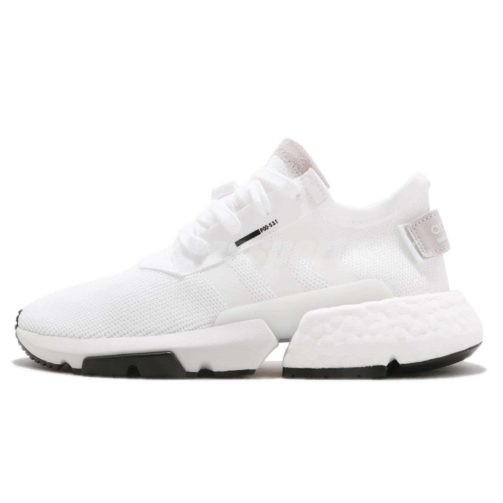 Details about adidas POD-S3.1 W Cloud White BOOST Womens Running Shoes  Sneakers B37459 b9c83e84b