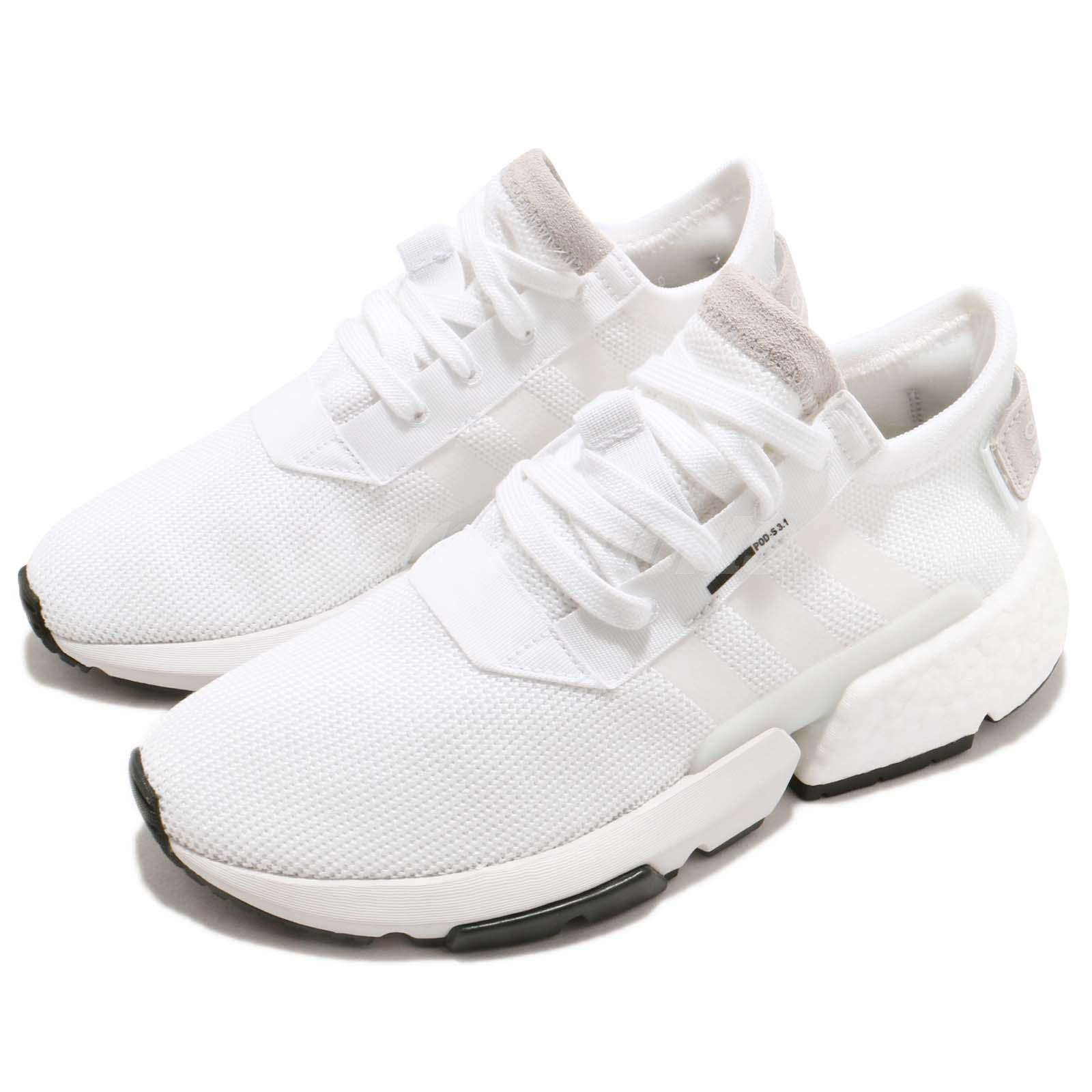 651313137 Details about adidas POD-S3.1 W Cloud White BOOST Womens Running Shoes  Sneakers B37459