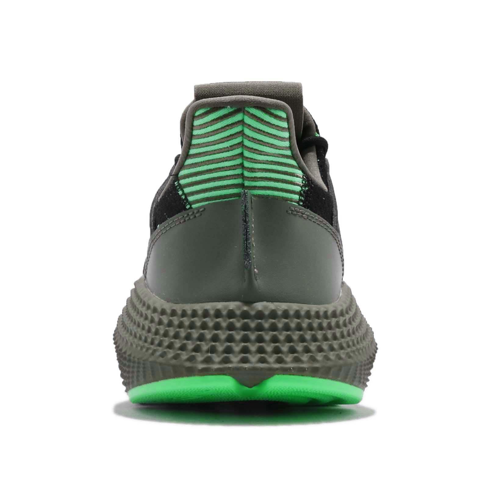 9e83a968e479cd adidas Originals Prophere Black Shock Lime Men Running Shoes ...