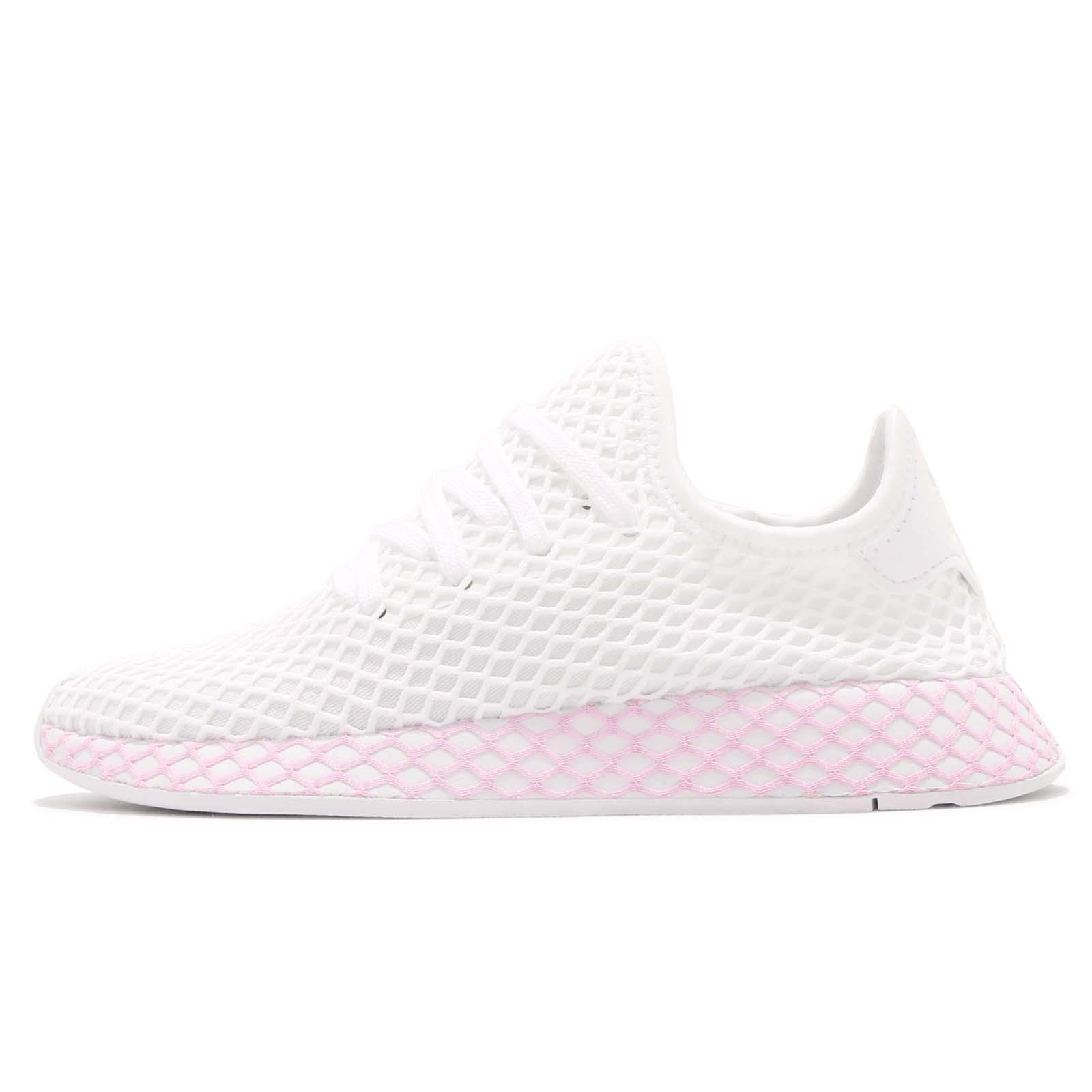 buy online ffe7d a020b adidas Originals Deerupt W Runner White Lilac Women Running Shoes Sneaker  B37601