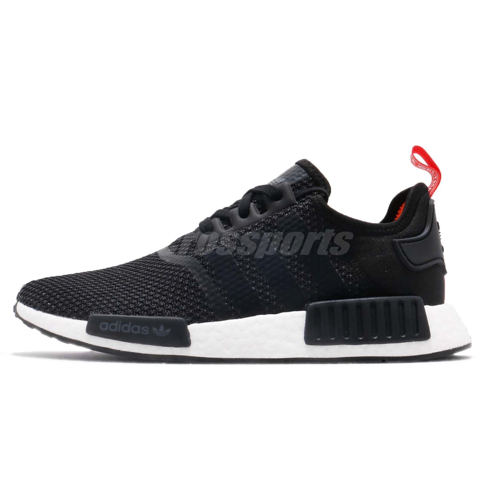 048f4572b Details about adidas Originals NMD R1 Black Solar Orange Men Running Shoes  Sneakers B37621