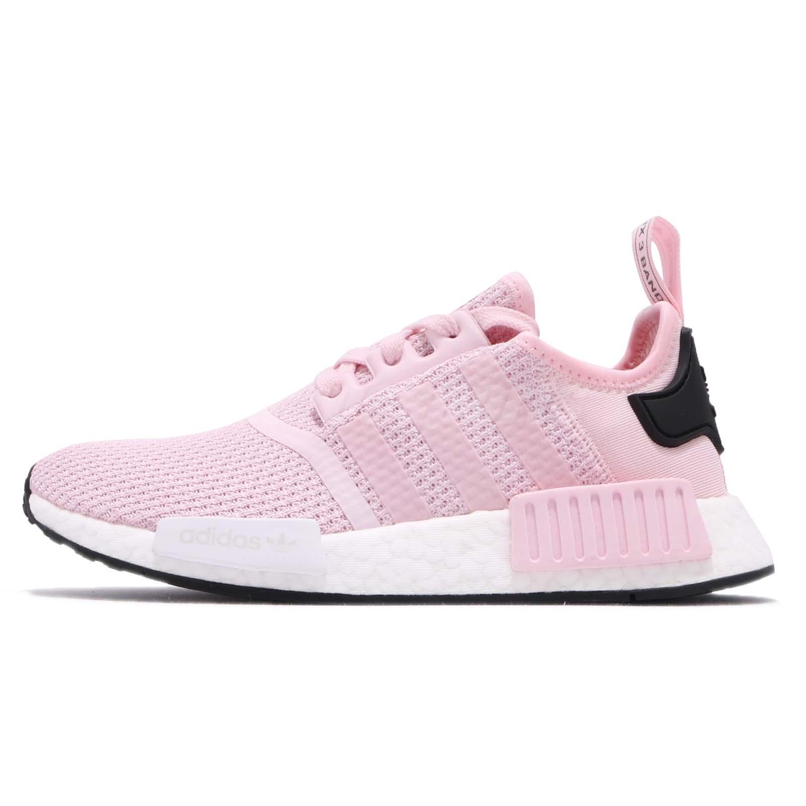 6003100a05f9 adidas Originals NMD R1 W Boost Pink White Black Women Running Shoes B37648