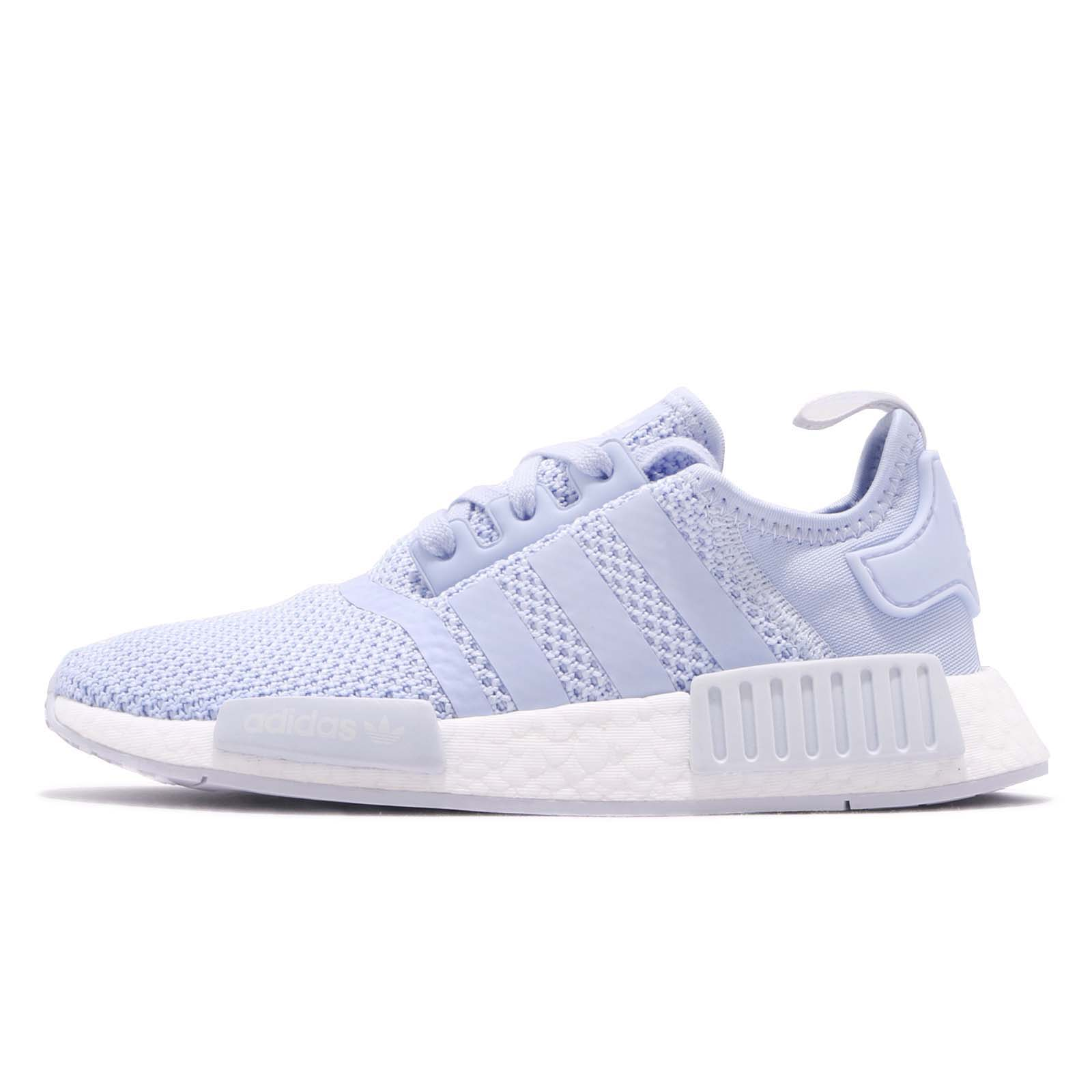 136716f41 Details about adidas Originals NMD R1 W Aero Blue White Women Running Shoes  Sneakers B37653