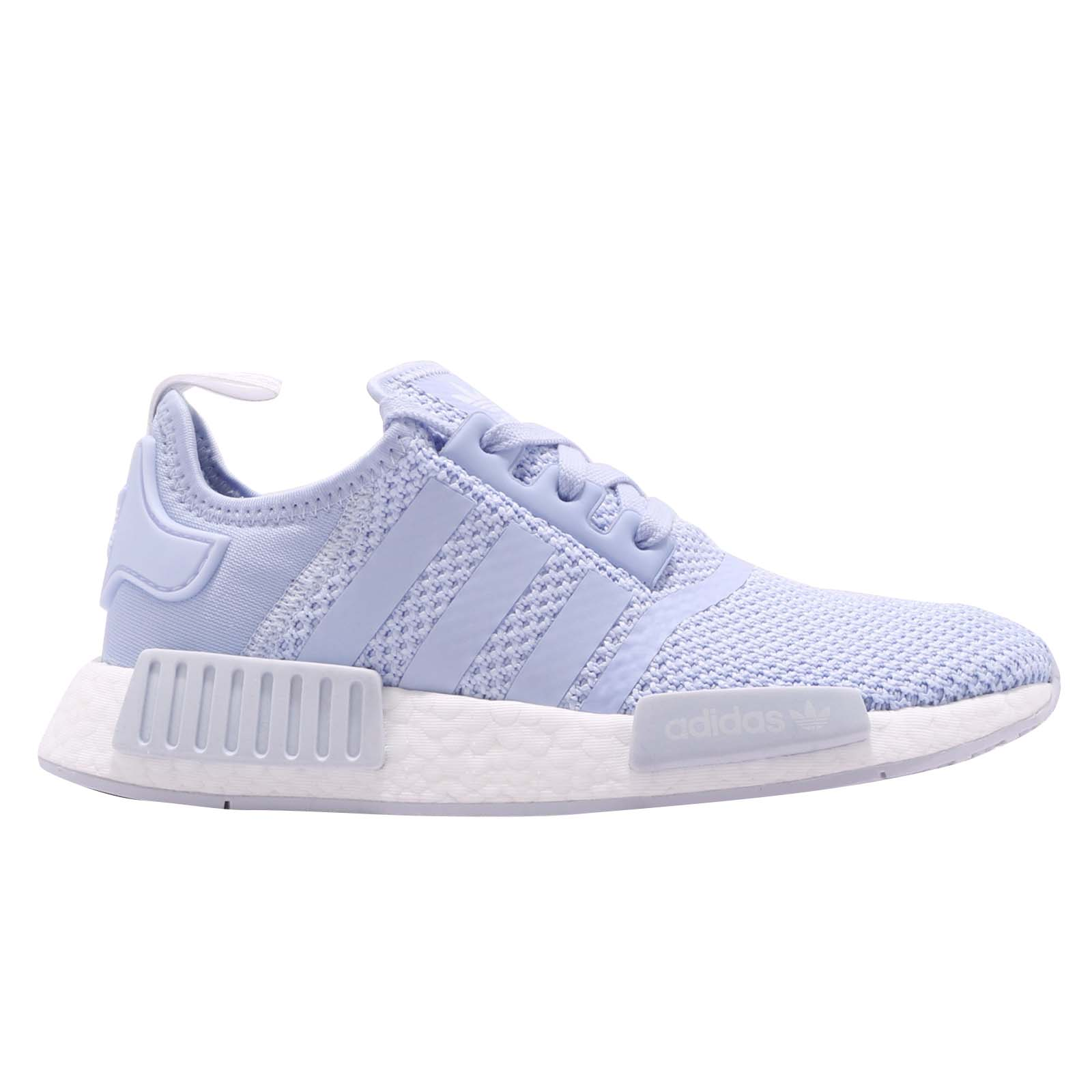 5810e69ab adidas Originals NMD R1 W Aero Blue White Women Running Shoes ...