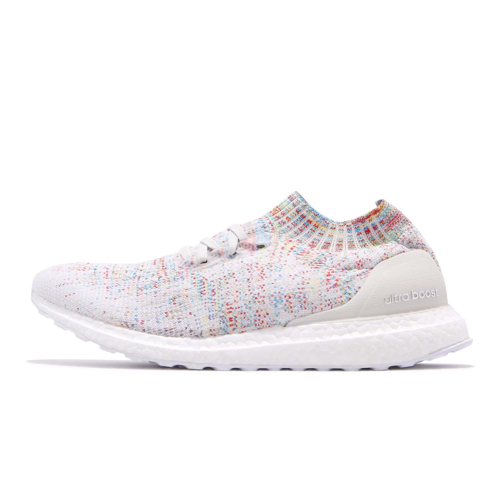 f486de9300a33 adidas UltraBOOST Uncaged White Shock Cyan Multi-Color Men Women Shoes  B37691