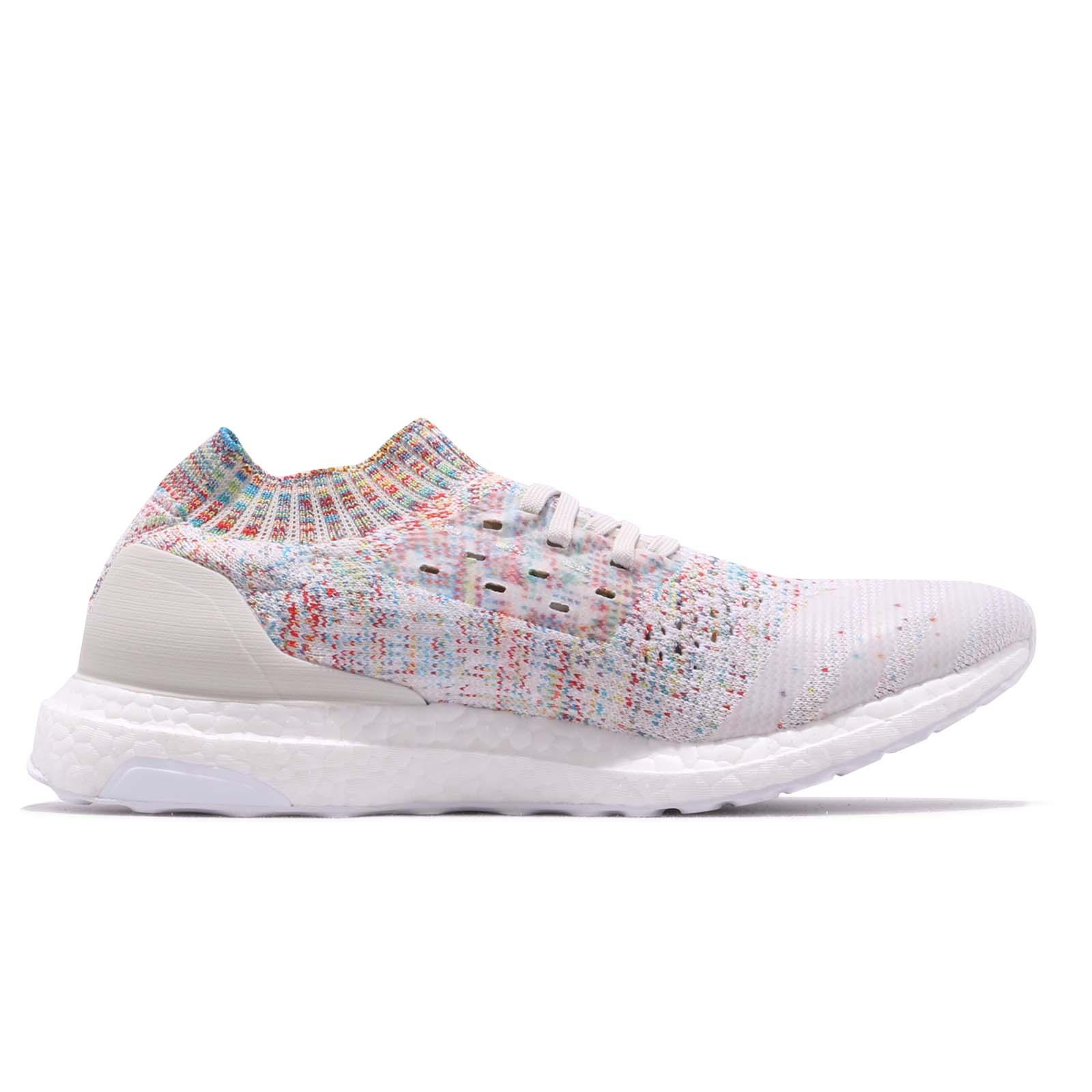 80415c01480 adidas UltraBOOST Uncaged White Shock Cyan Multi-Color Men Women ...