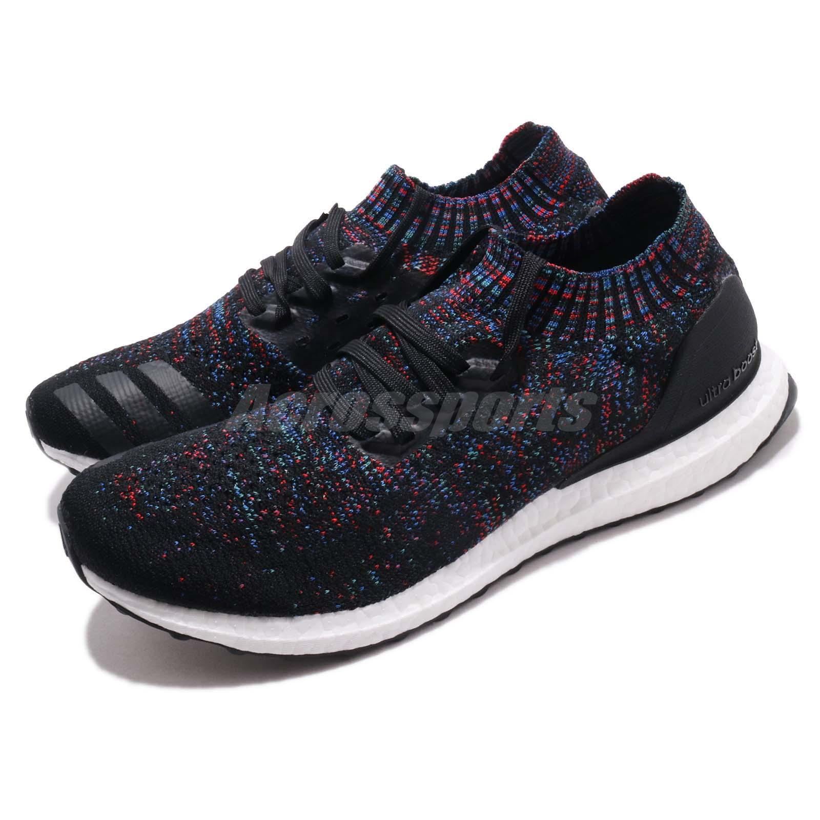 f3c7238cc99 Details about adidas UltraBOOST Uncaged Black Active Red Blue Men Women  Running Shoes B37692