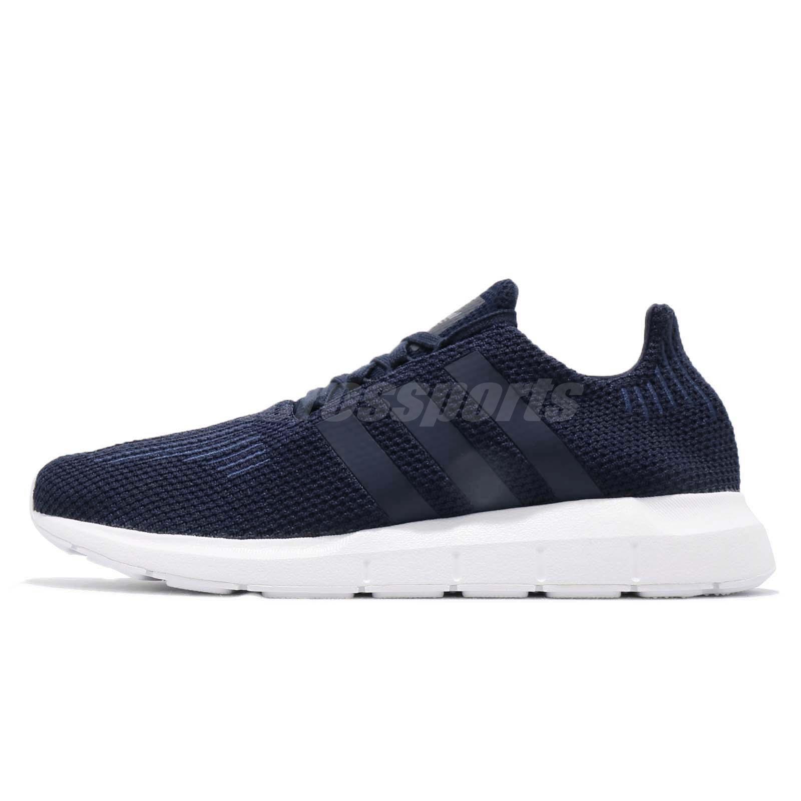 B37727 Adidas Originals Swift Run Men Shoes Collegiate NavyWhite