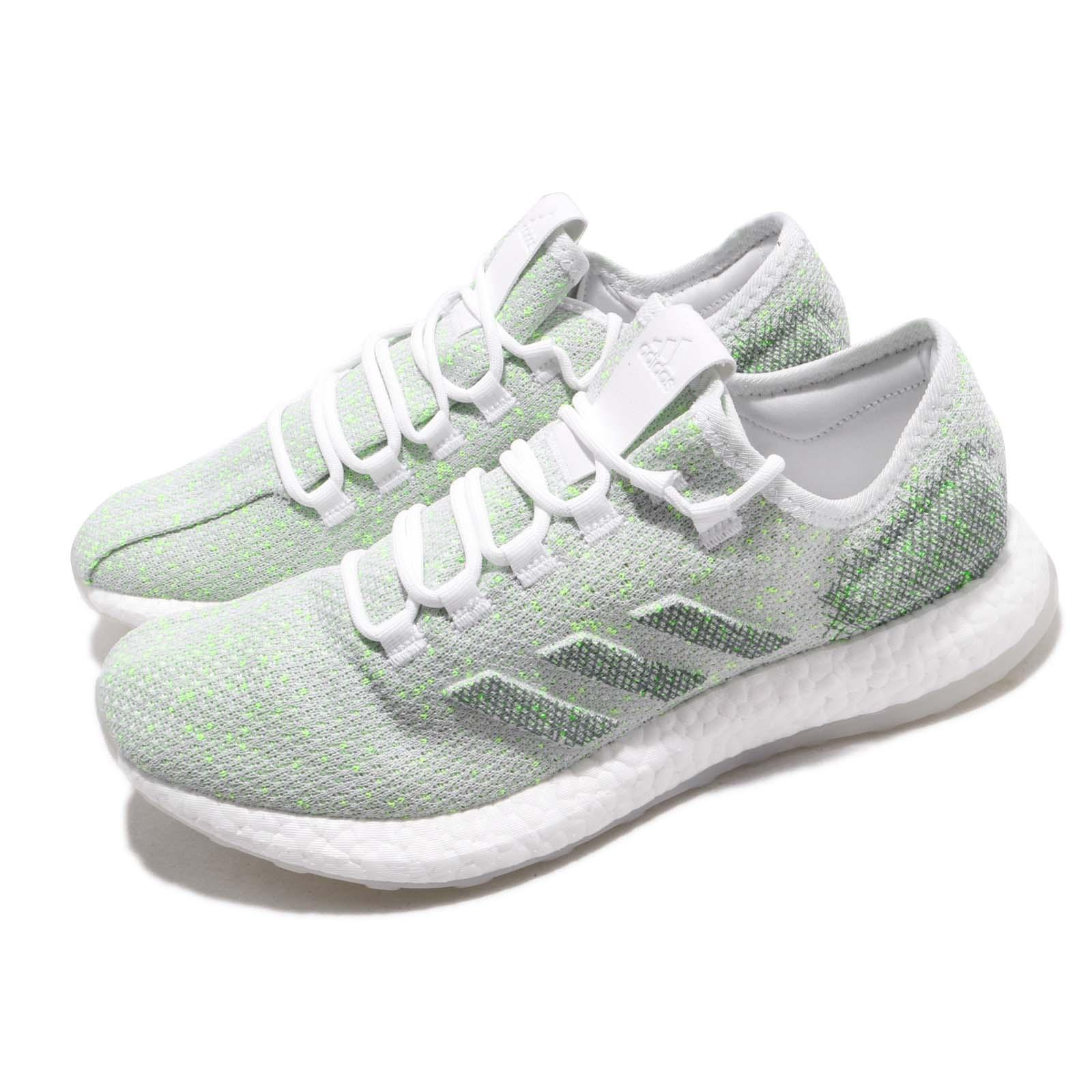 a8e0112bf48f8 Details about adidas PureBOOST LTD White Grey Mens Running Shoes BOOST  B37810