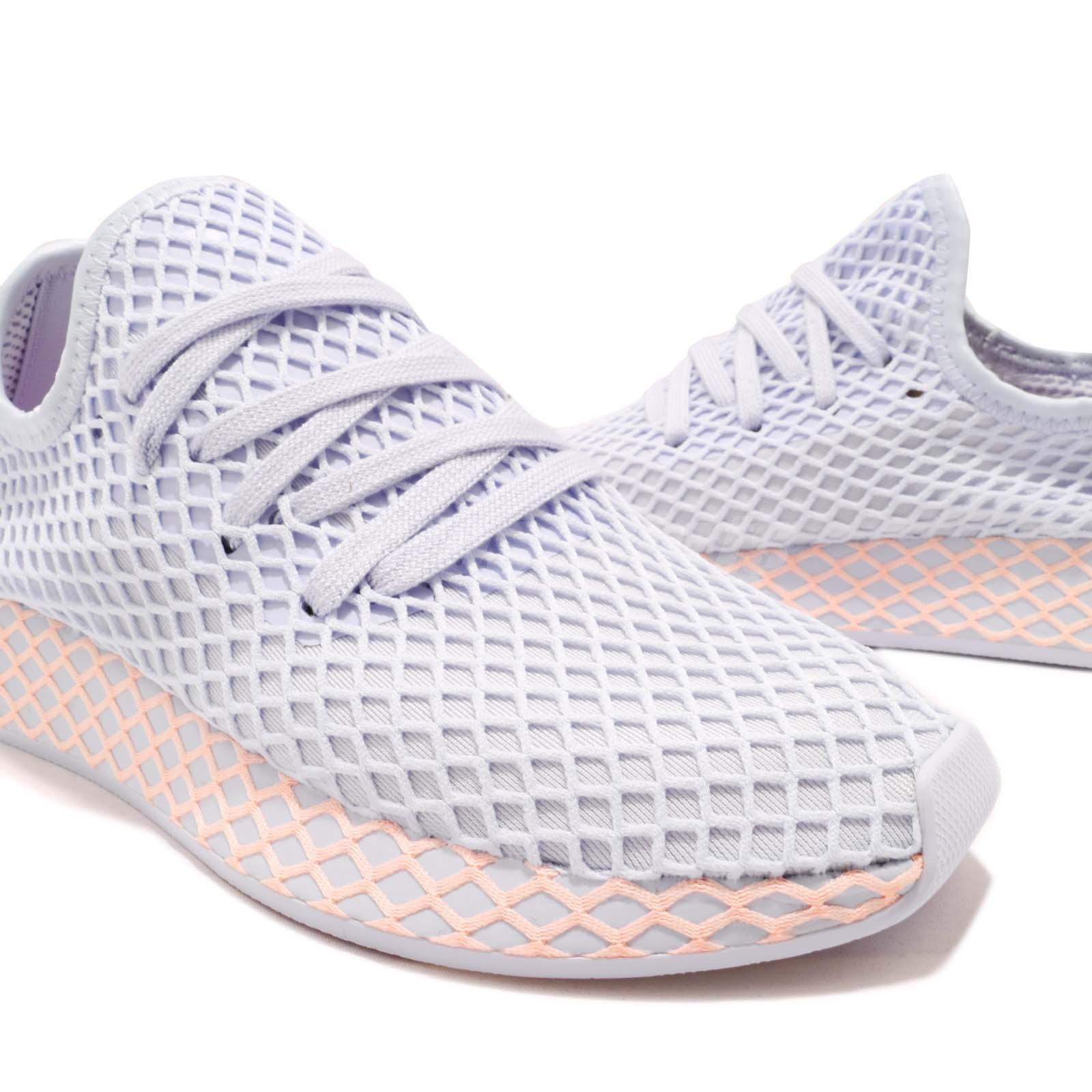 detailed pictures fe2c0 5b551 adidas Originals Deerupt W Runner Aero Blue Clear Orange Run