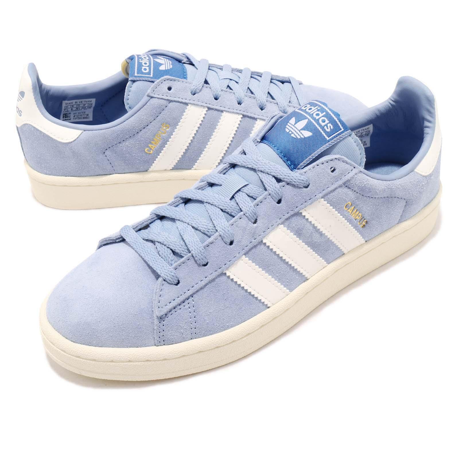 Détails sur adidas Originals Campus W Ash Blue White Women Casual Shoes Sneakers B37936