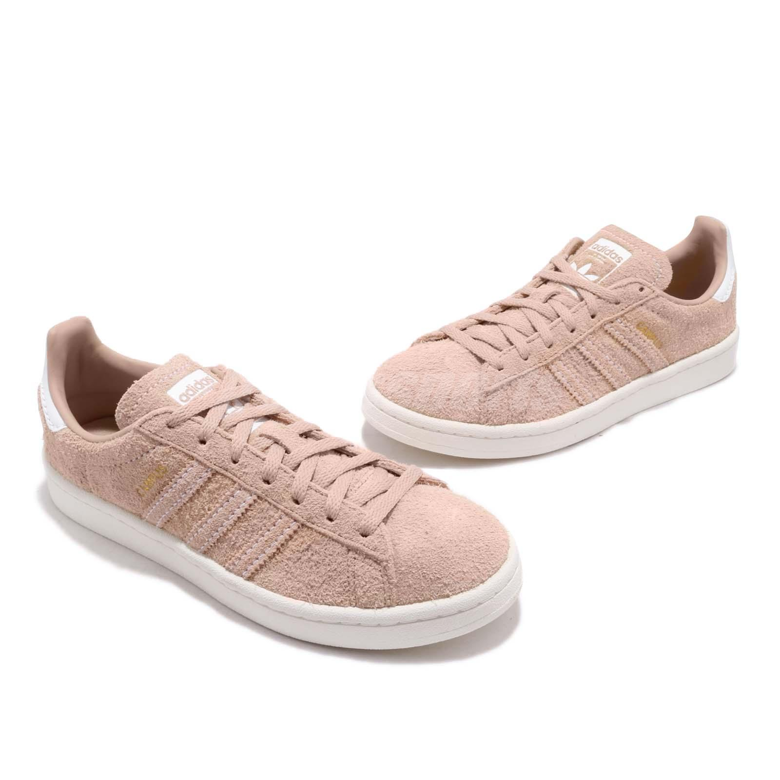 new products 239de 2afdd adidas Originals Campus W Ash Pearl White Women Casual Shoes