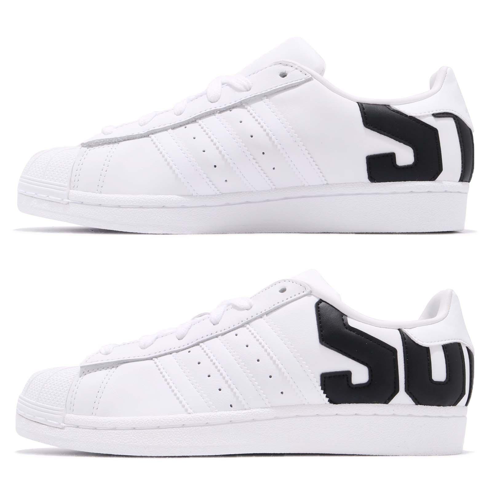 factory price 696df 70097 adidas Originals Superstar Big Logo White Black Men Women Casual Shoes  B37978