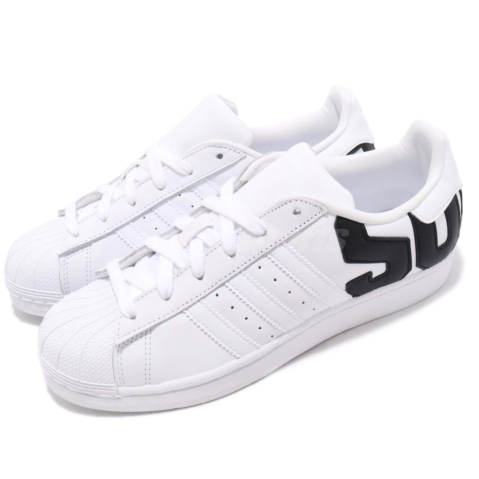 separation shoes bf94c 43125 Details about adidas Originals Superstar Big Logo White Black Men Women  Casual Shoes B37978
