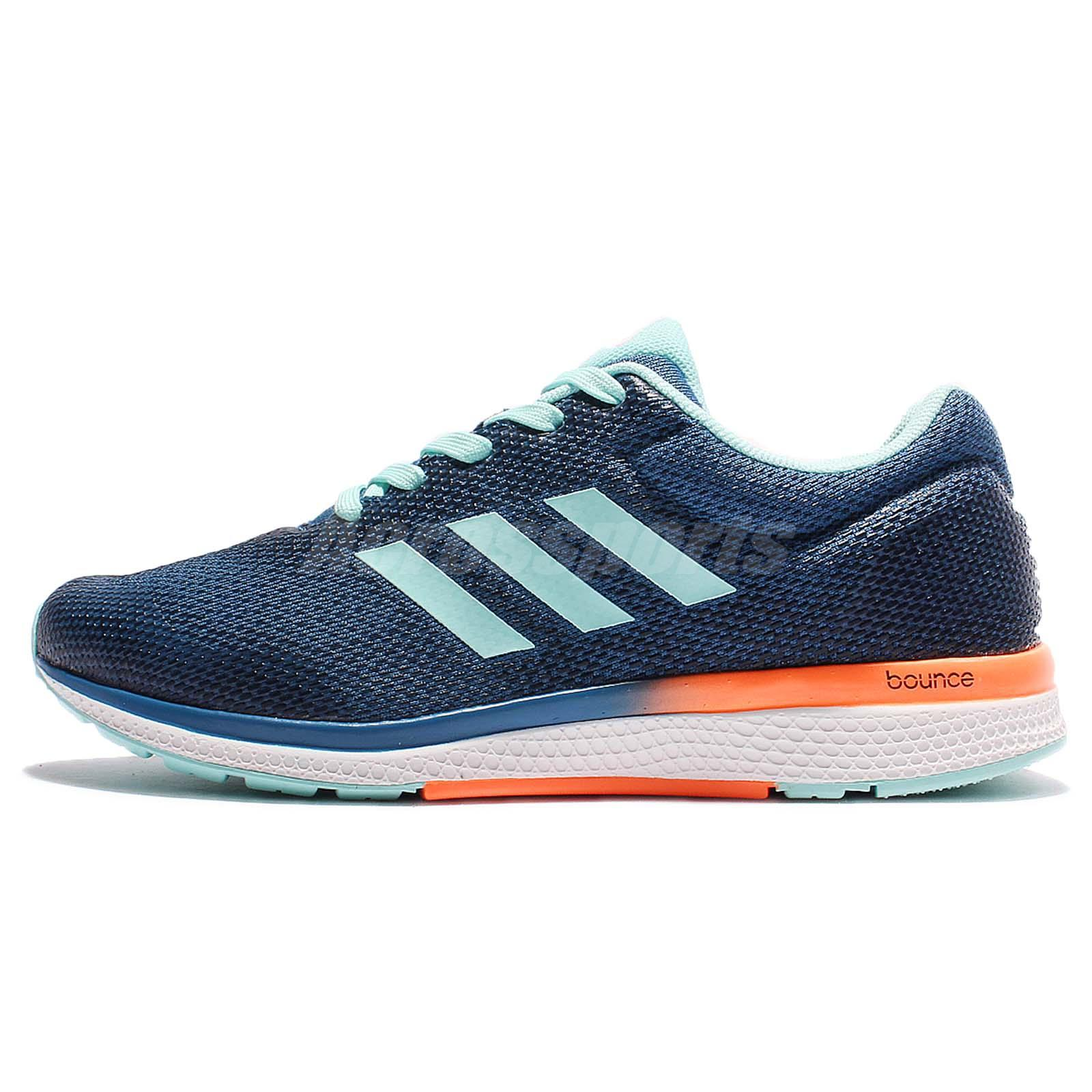 newest collection fcb0a b9563 adidas Mana Bounce 2.0 W Aramis II Navy Blue Women Running Shoes Sneakers  B39023