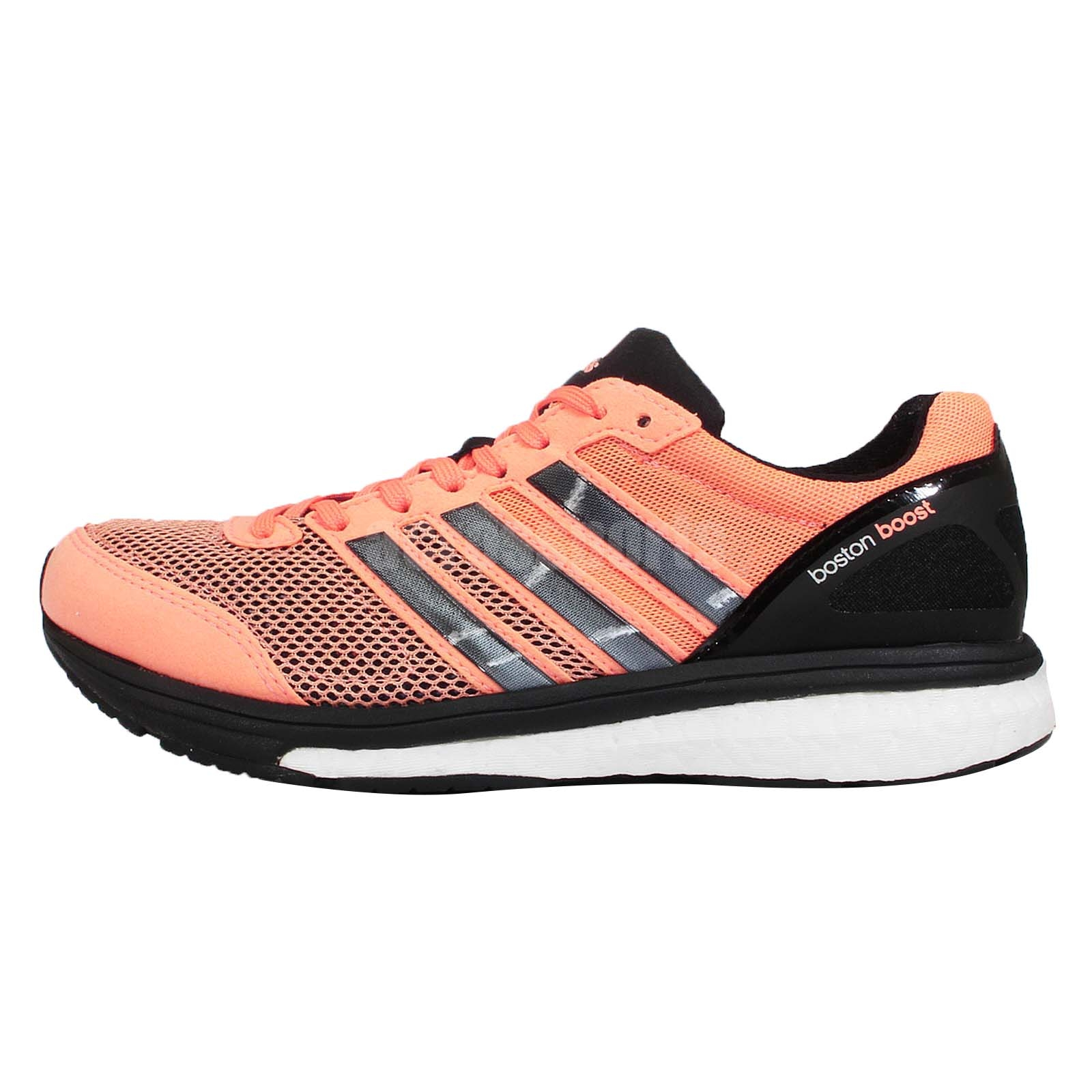 Addidas Mens Shoes Black Withn Yellow Strioe