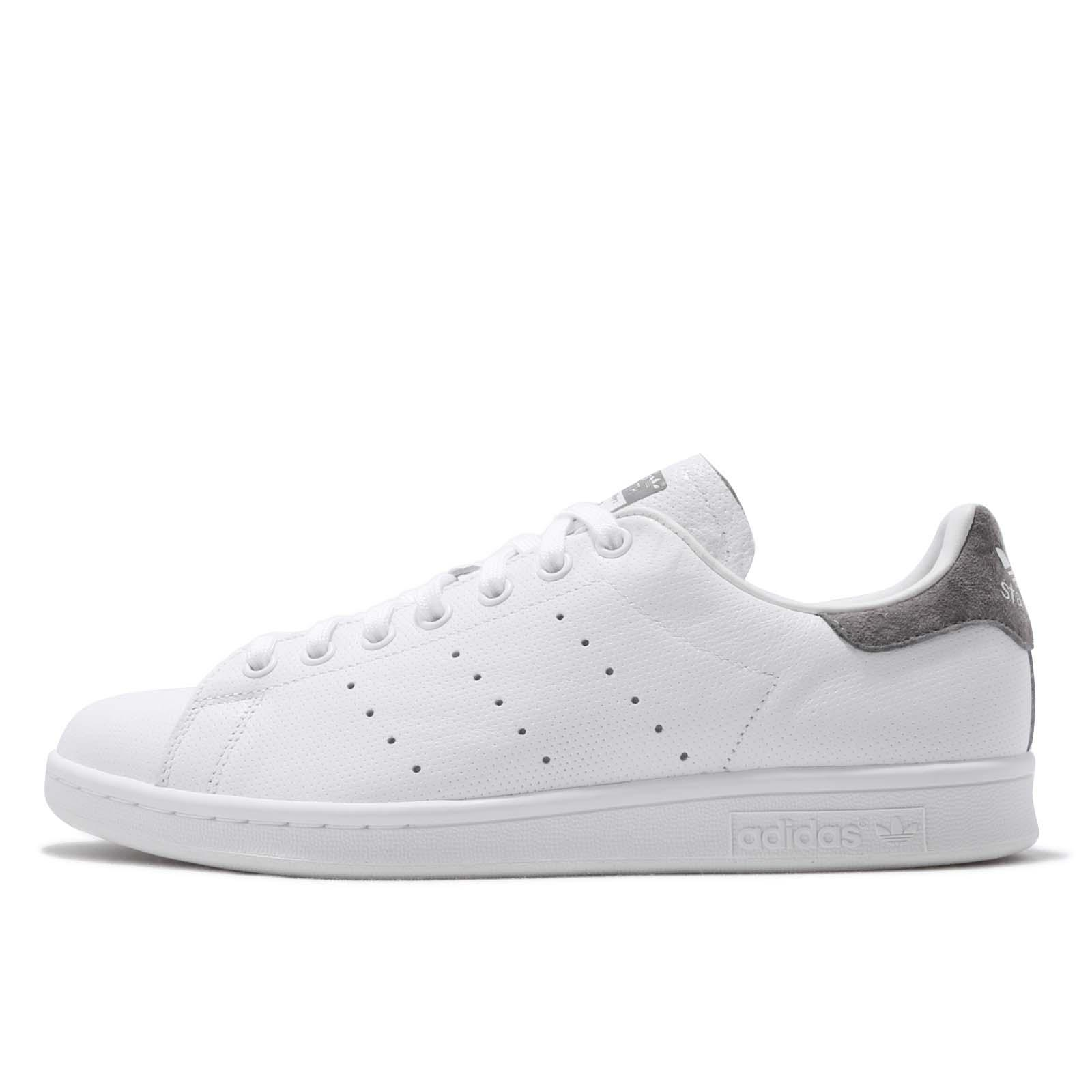 a586458d3cb adidas Originals Stan Smith White Grey Men Classic Casual Shoes Sneakers  B41470